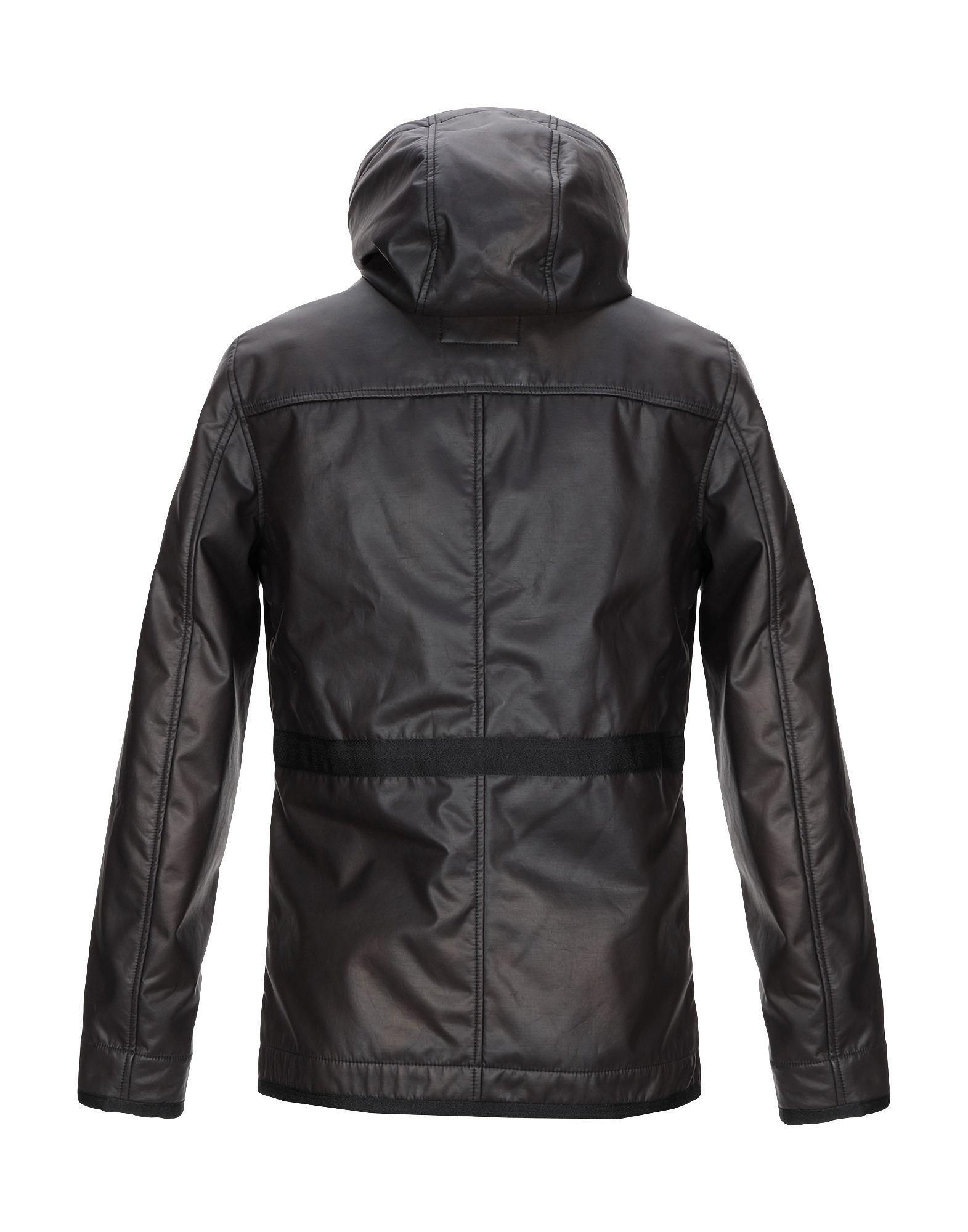 Manteau long Guess pour homme en coloris Noir fKkhN