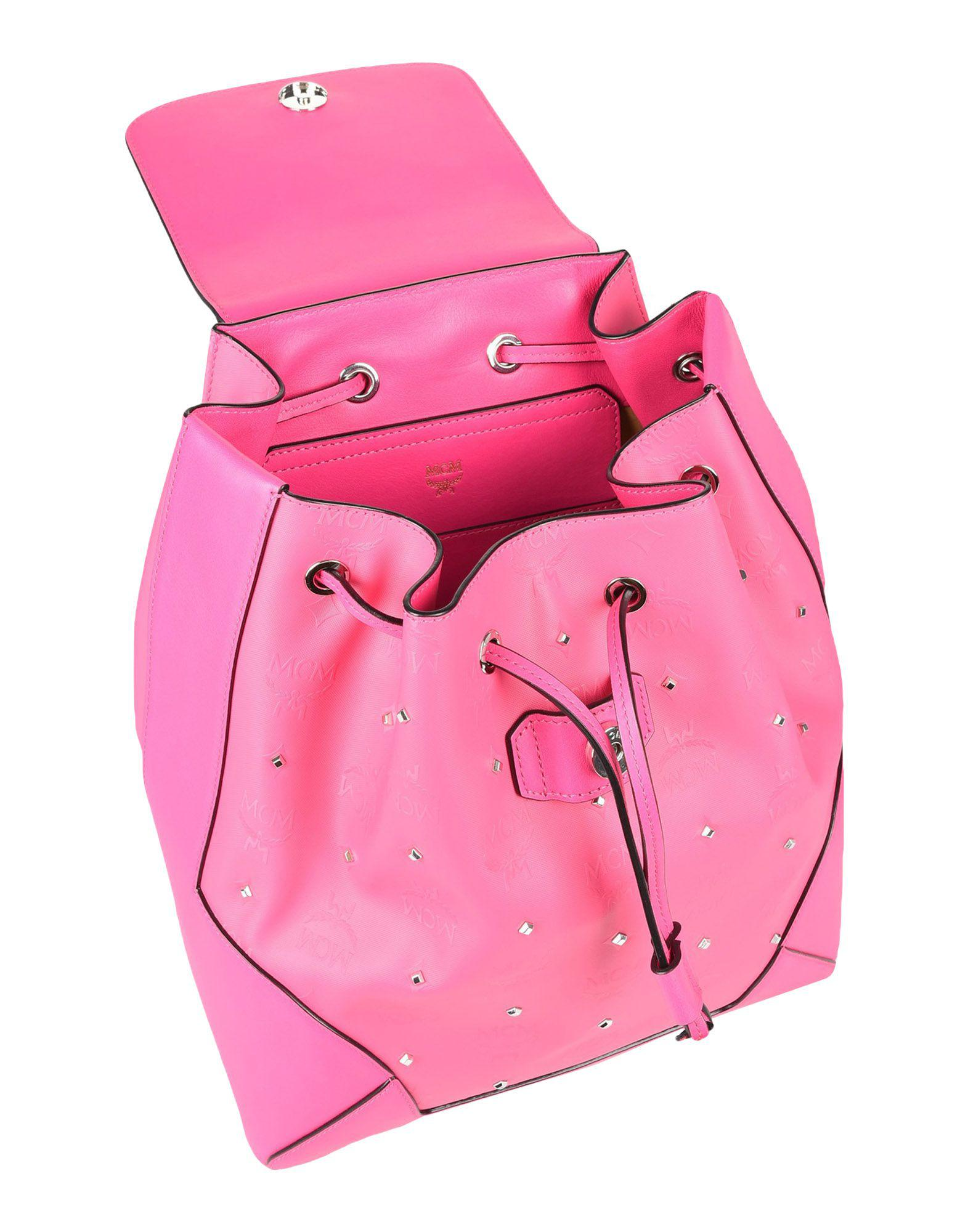 MCM Backpacks & Fanny Packs in Fuchsia (Pink)