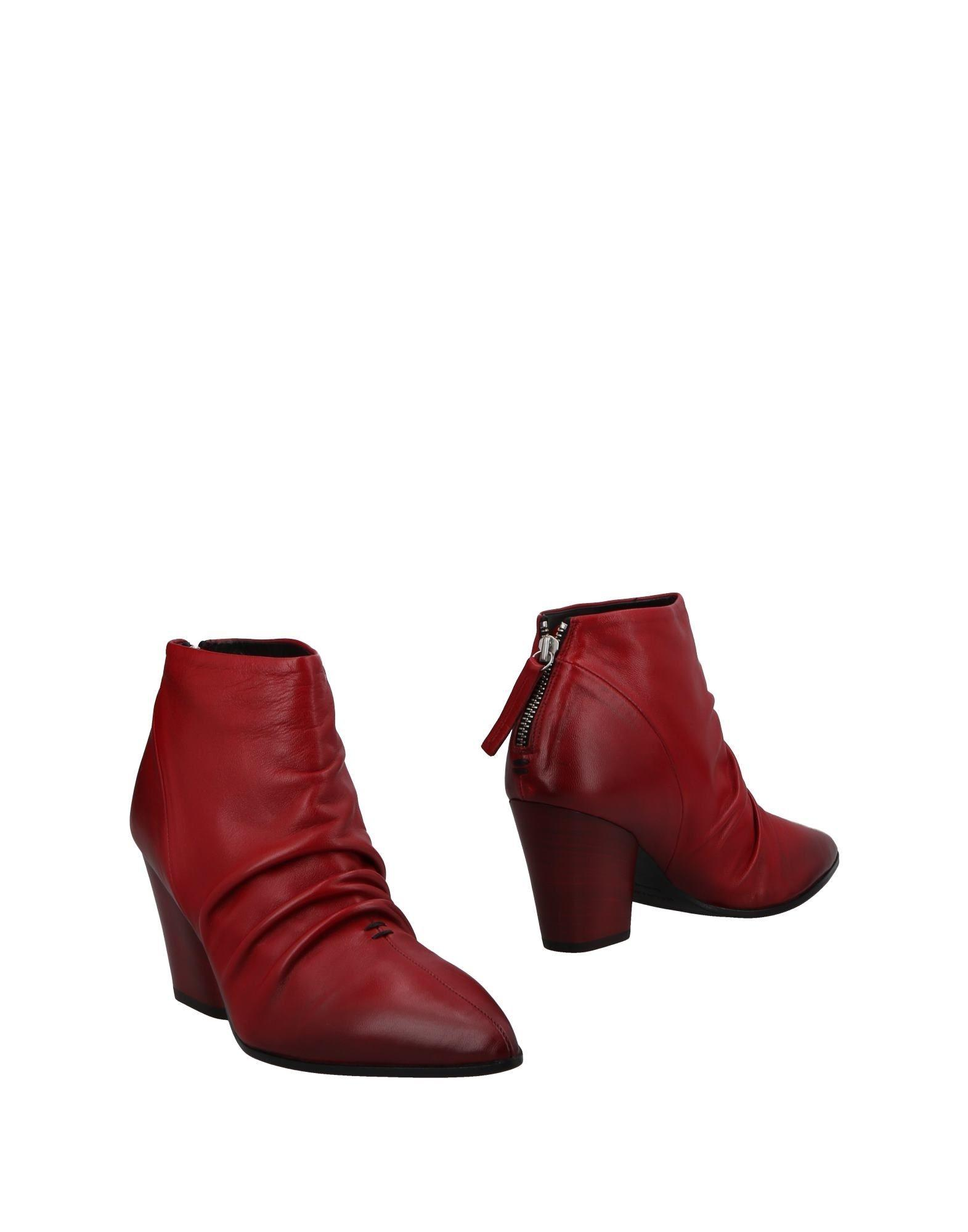 red cut-out ankle bootsHalmanera IWYGTwznoA
