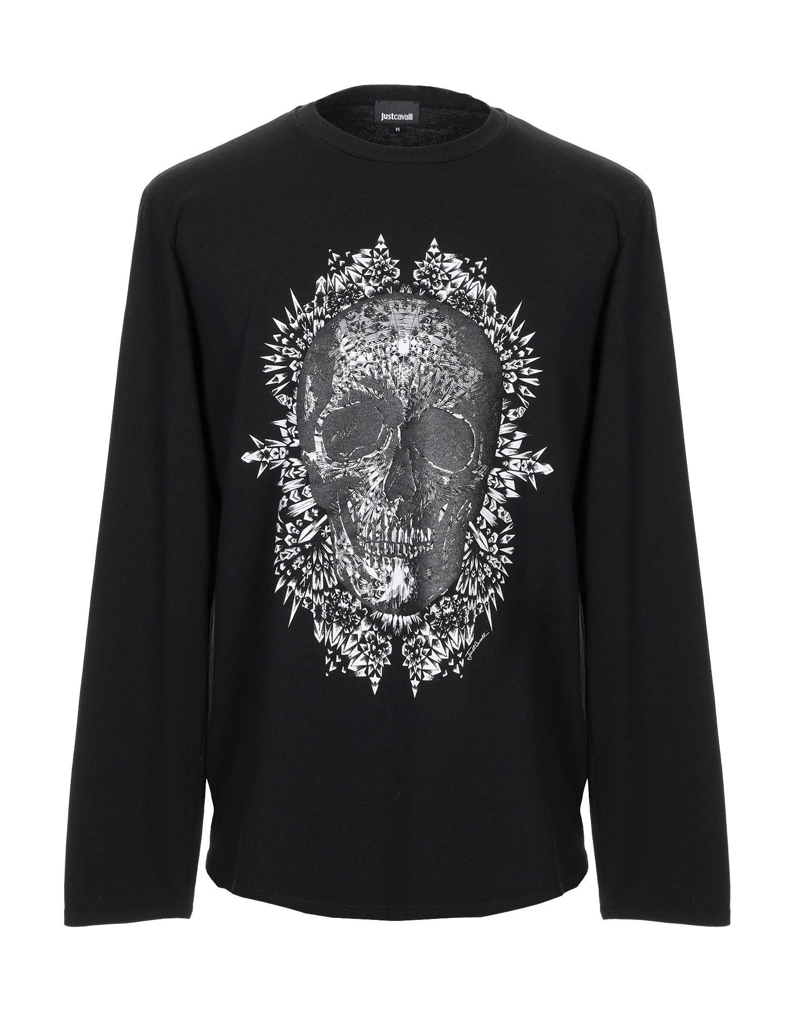 fe209b719 Just Cavalli T-shirt in Black for Men - Lyst