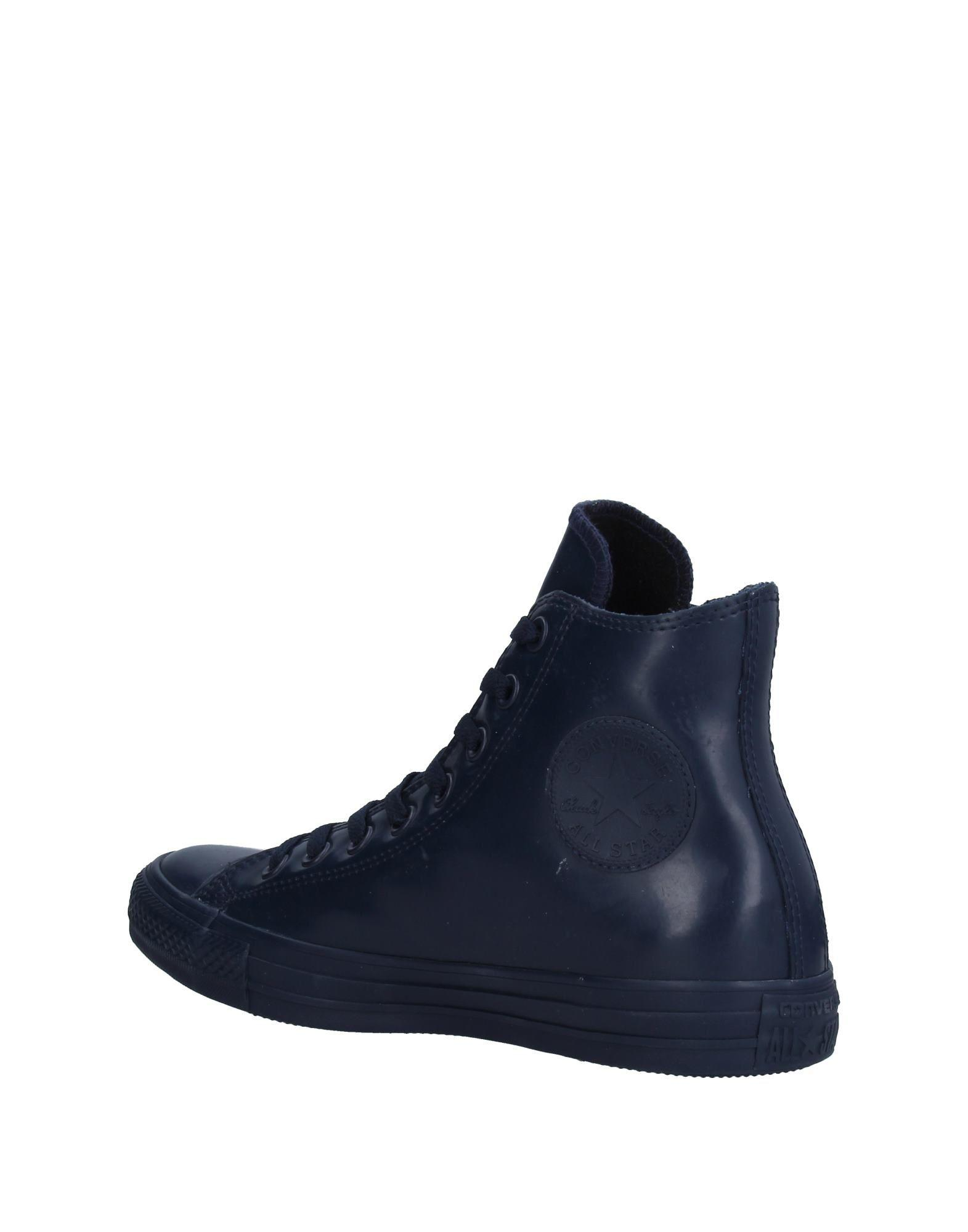 Converse Rubber High-tops & Sneakers in Dark Blue (Blue)