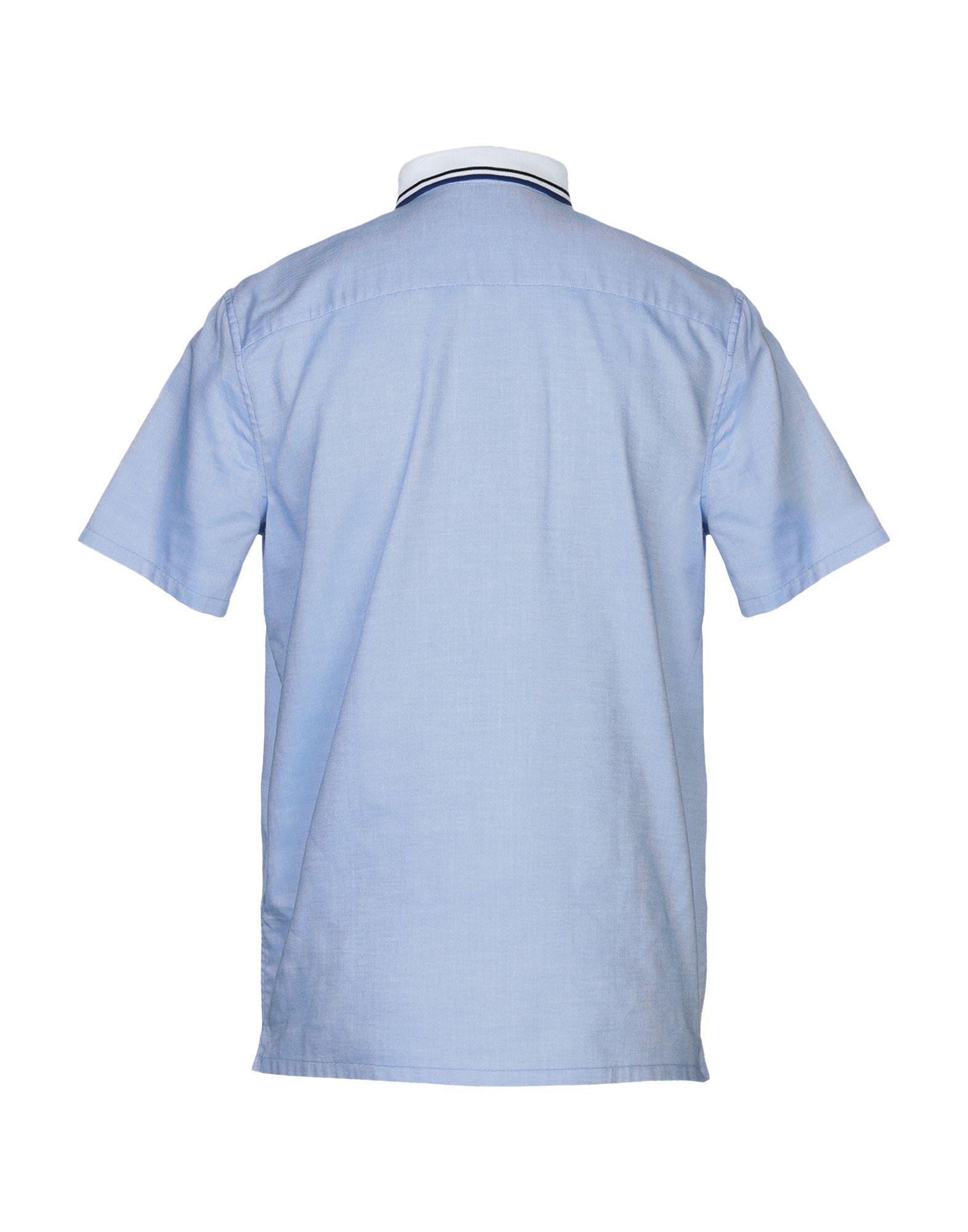 24c490624fa Lyst - Chemise Prada pour homme en coloris Bleu
