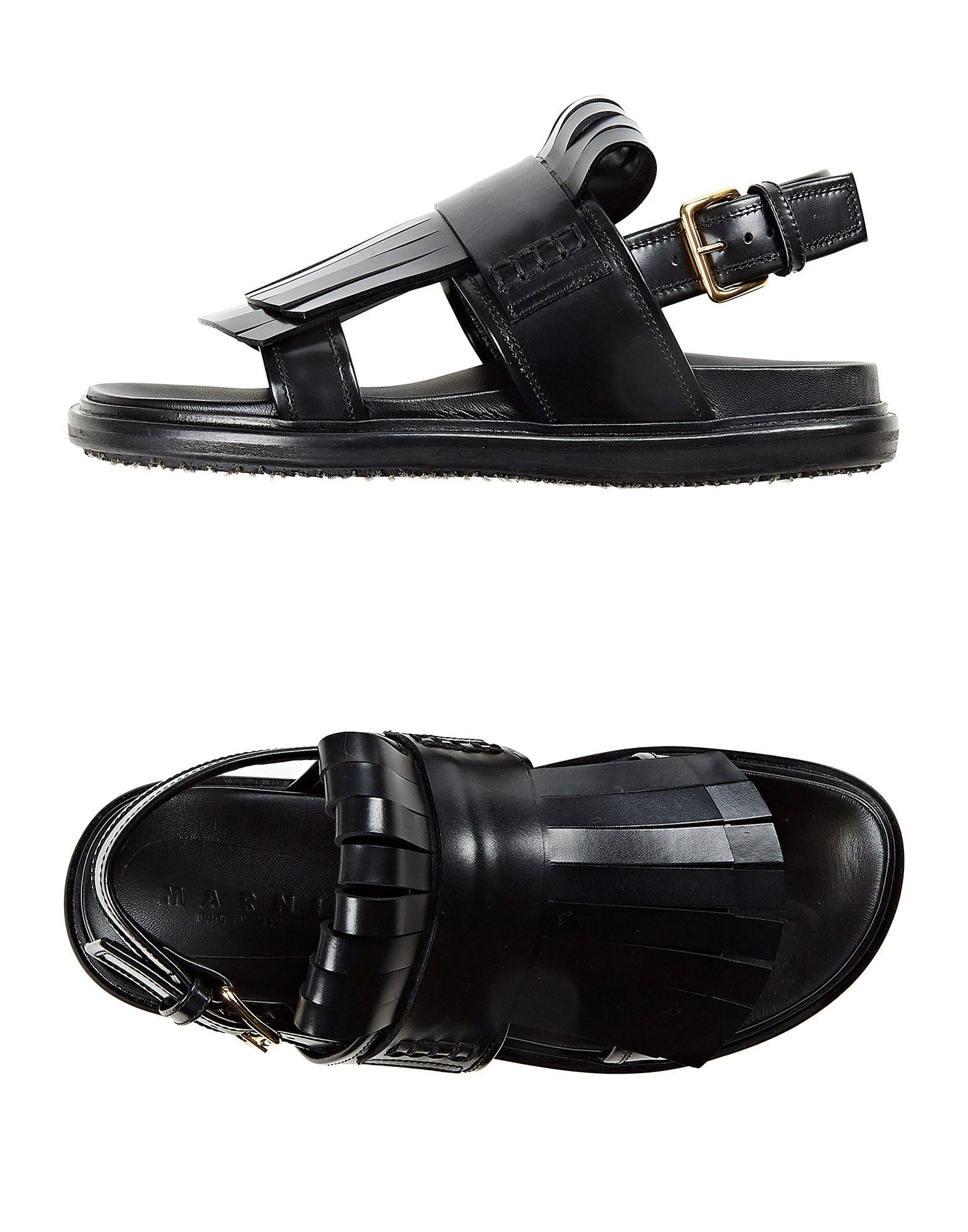 a3a25280cf0d Lyst - Marni Sandals in Black