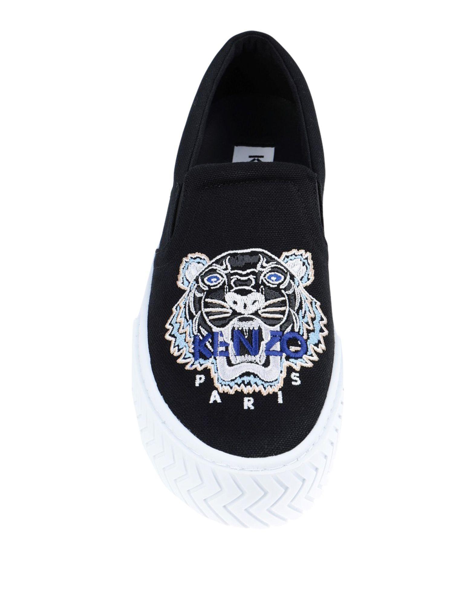 Sneakers & Tennis basses Toile KENZO en coloris Noir jeV8