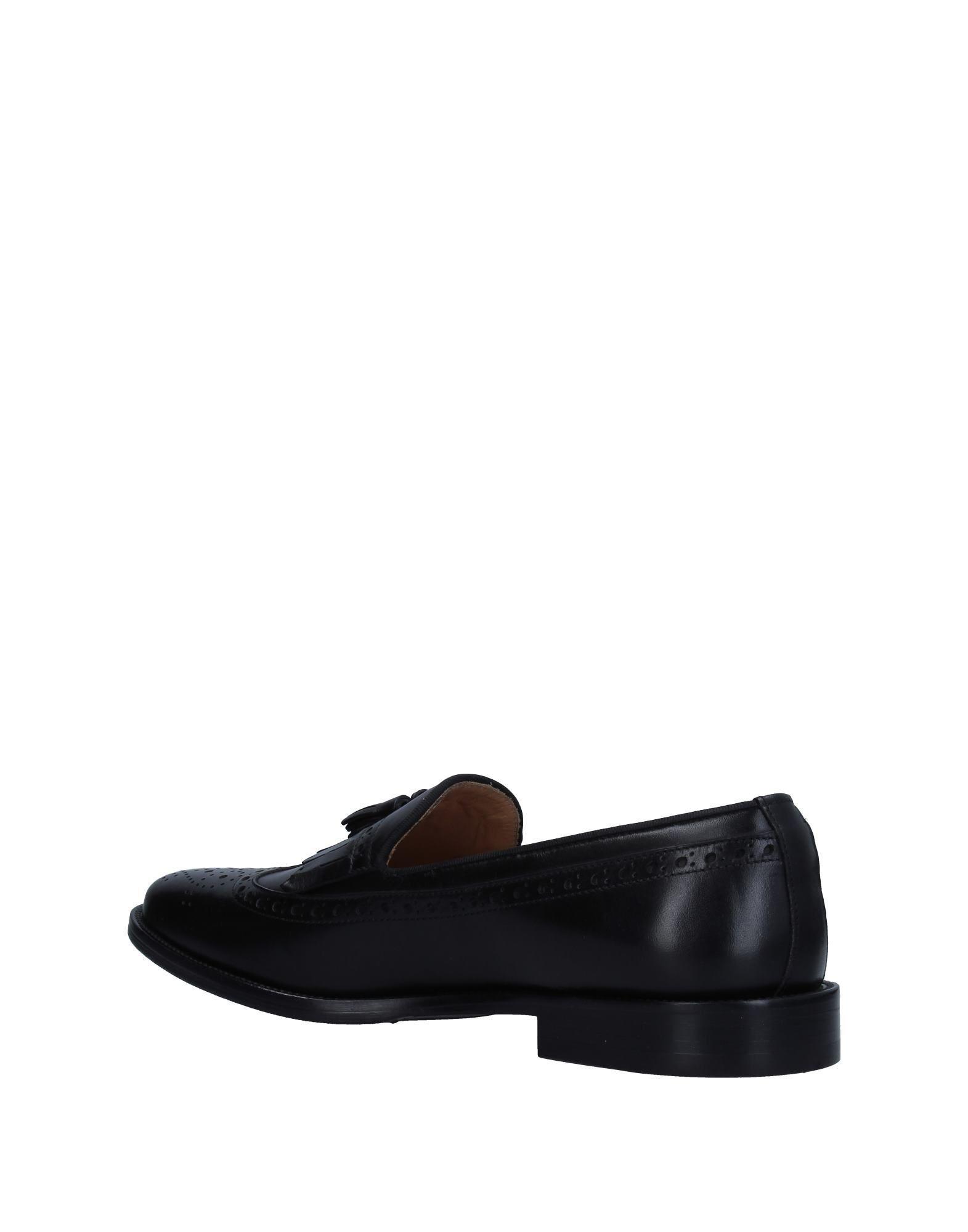 Belsire Leather Loafer in Black for Men