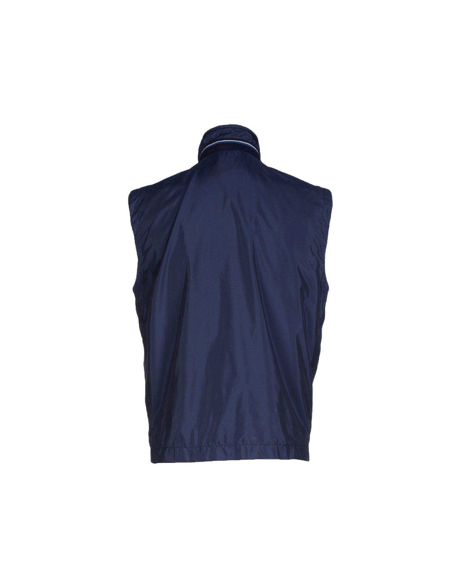 Fay Synthetic Jacket in Dark Blue (Blue) for Men