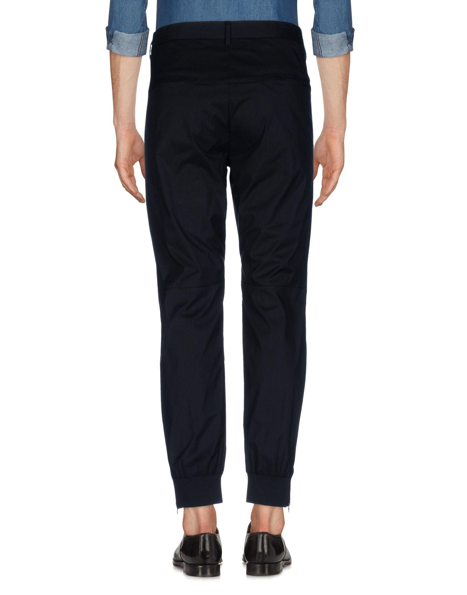Peak Performance Cotton Casual Trouser in Black for Men