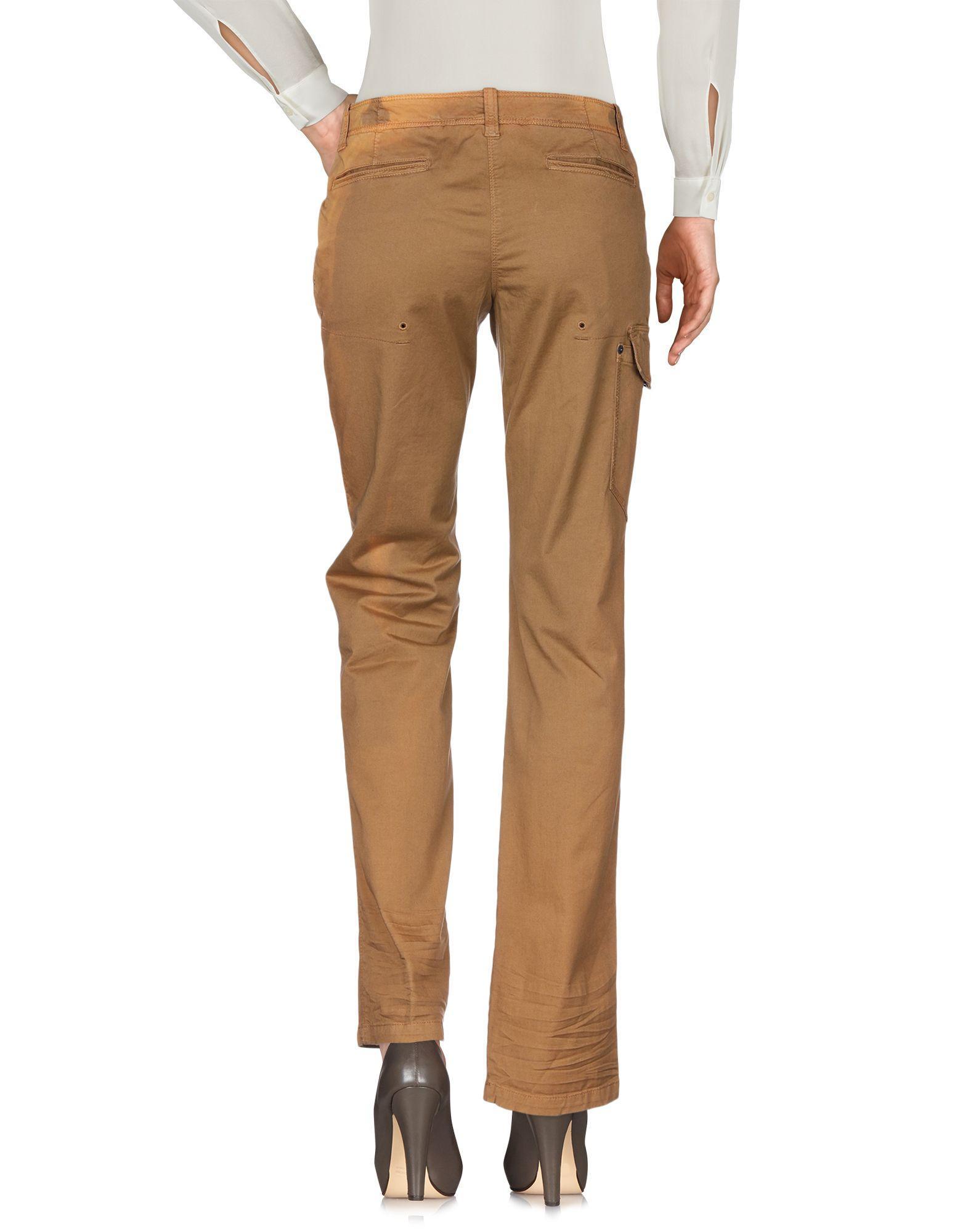Pantalones Napapijri de Algodón de color Marrón