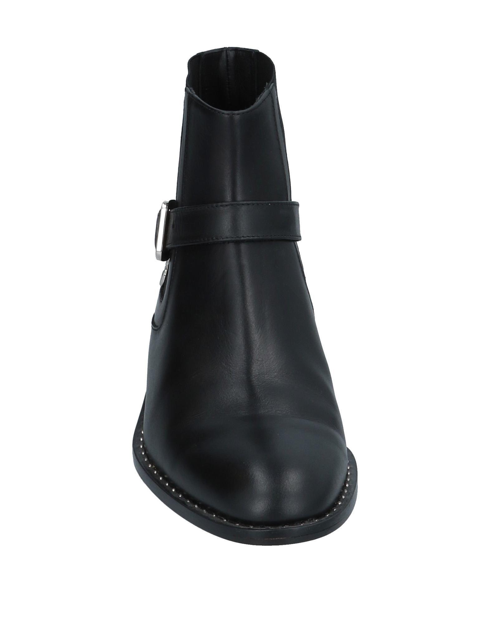 Botines de caña alta Patrizia Pepe de Cuero de color Negro