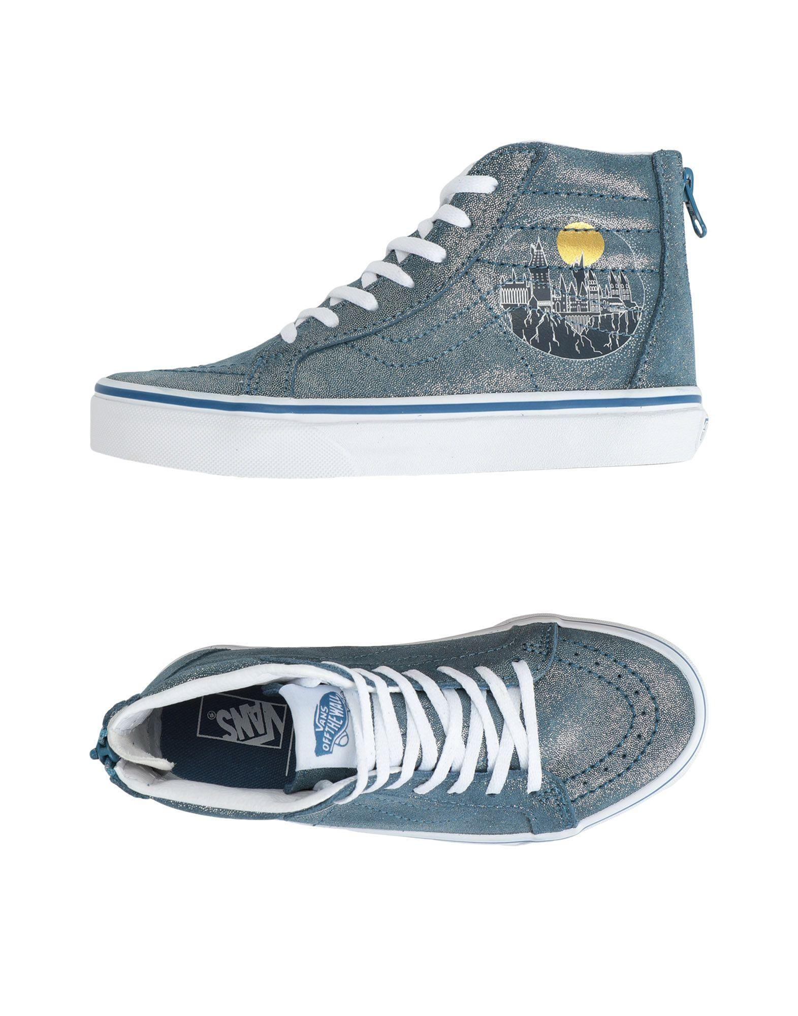 Sneakers & Tennis montantes Daim Vans en coloris Bleu - Lyst