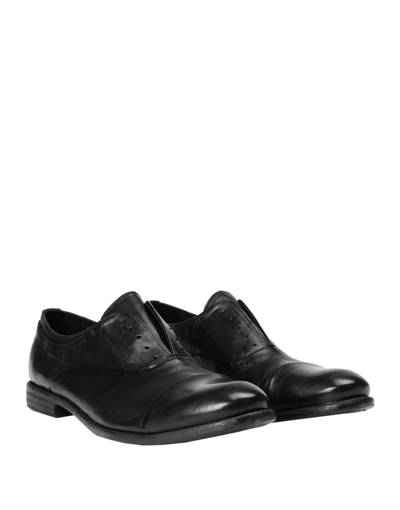 Zapatos de cordones Pawelk's de hombre de color Negro