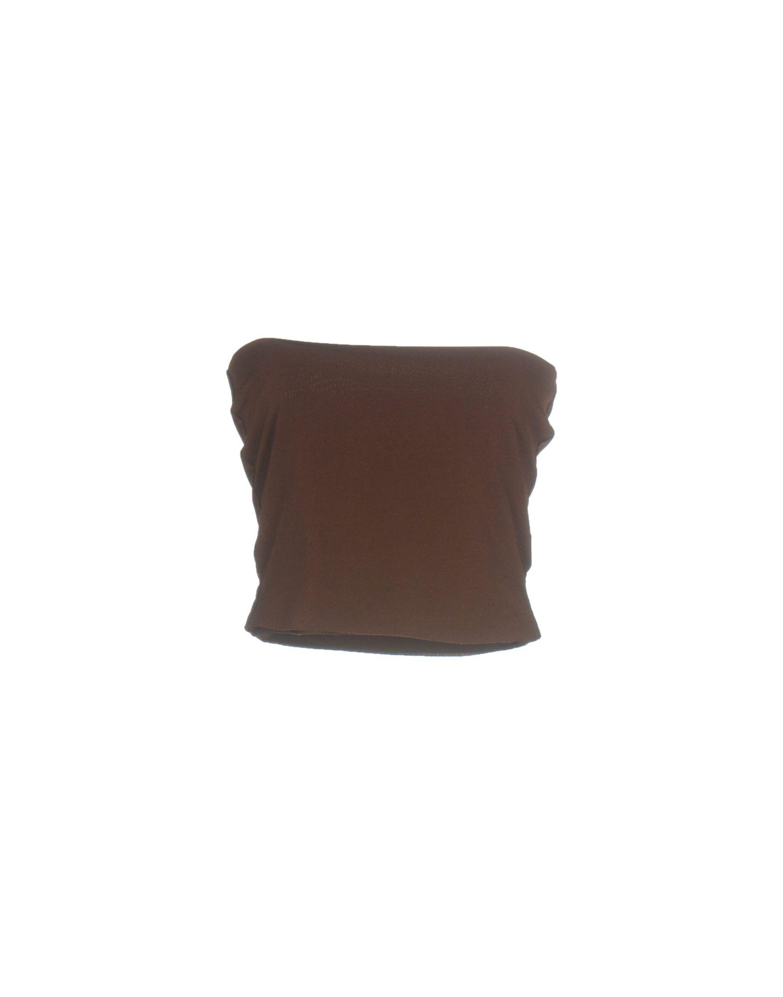 91def532faa Lyst - Von Vonni Tube Top in Brown