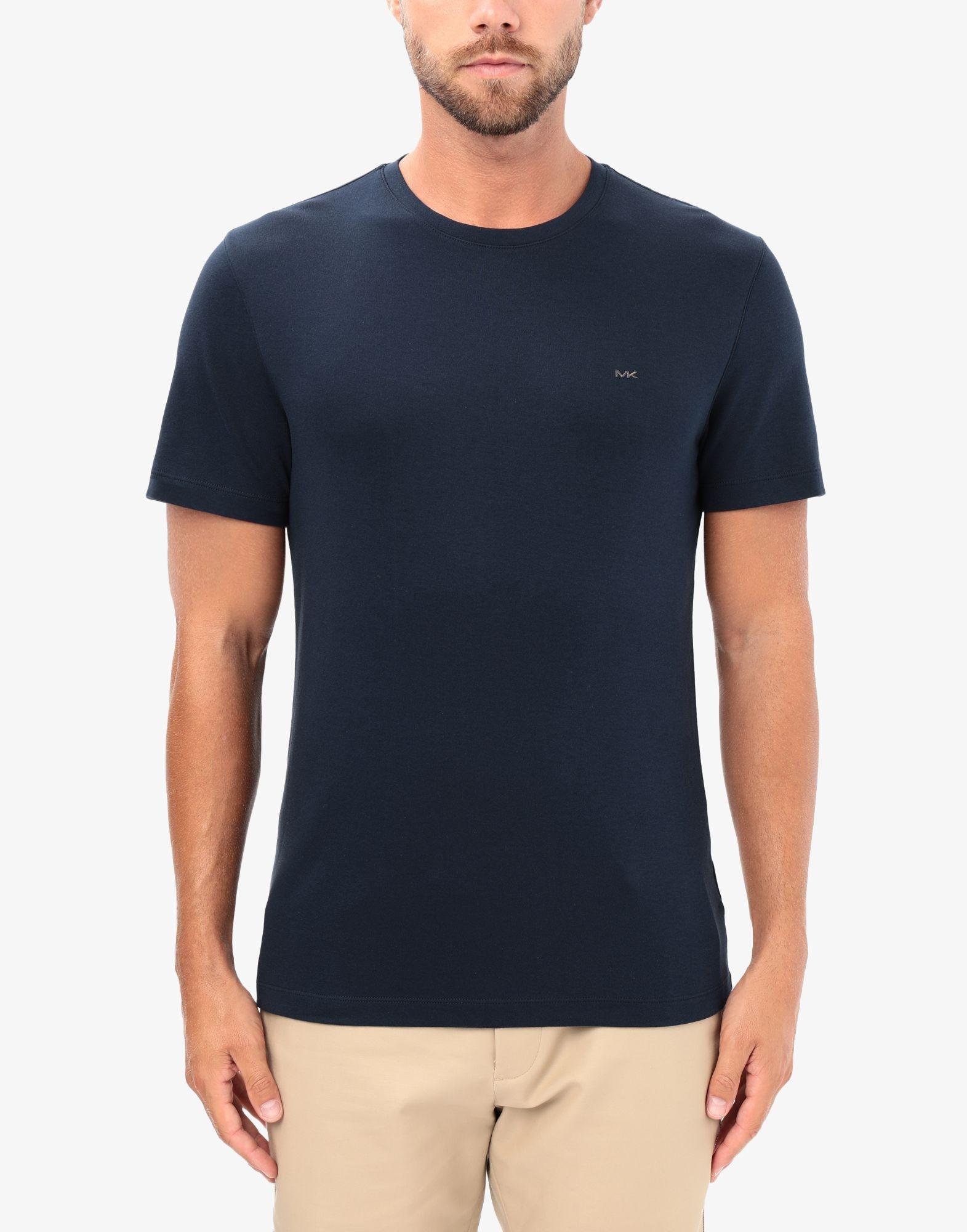 Michael Kors Baumwolle T-shirts in Blau für Herren