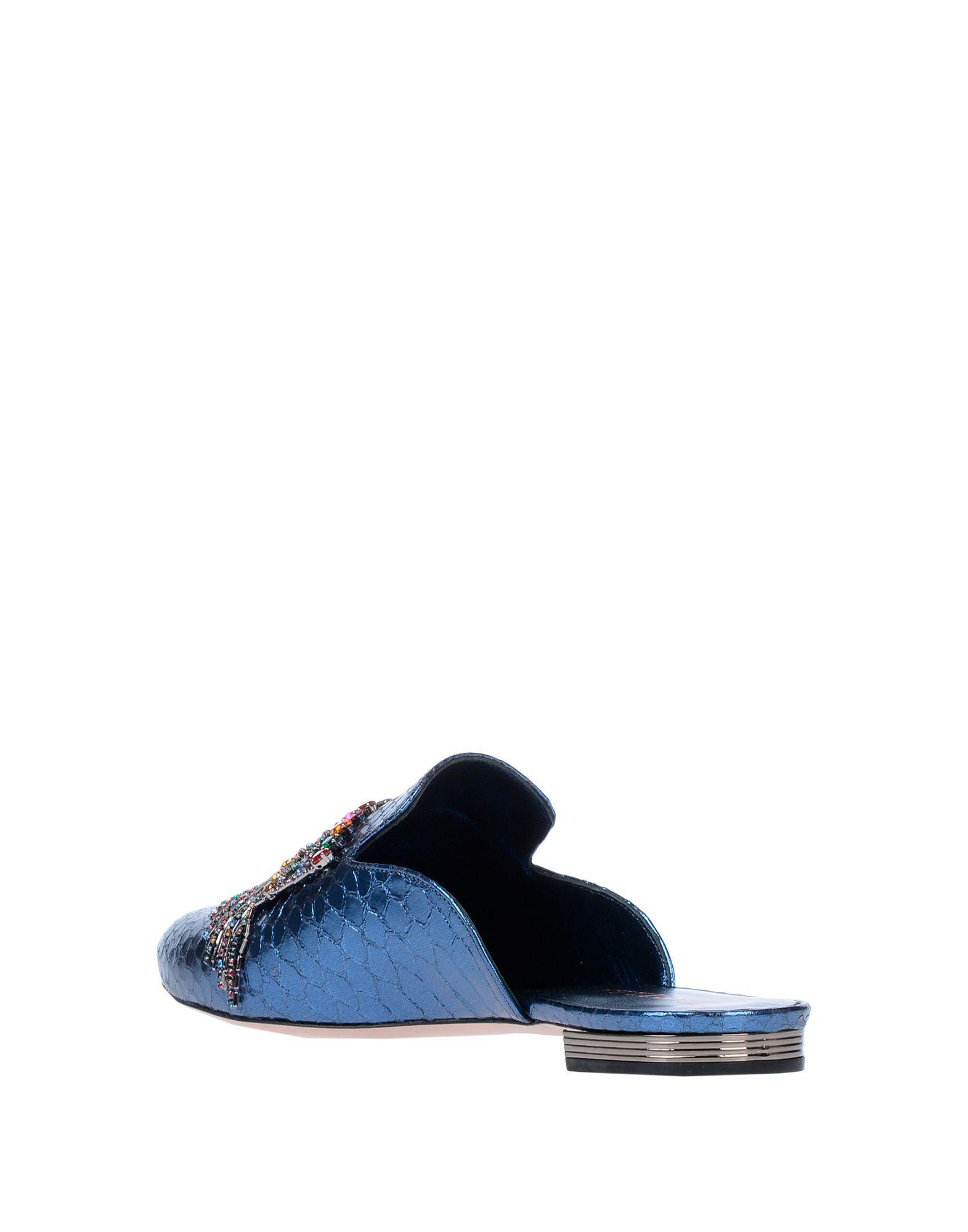Mules & Zuecos Le Silla de Cuero de color Azul