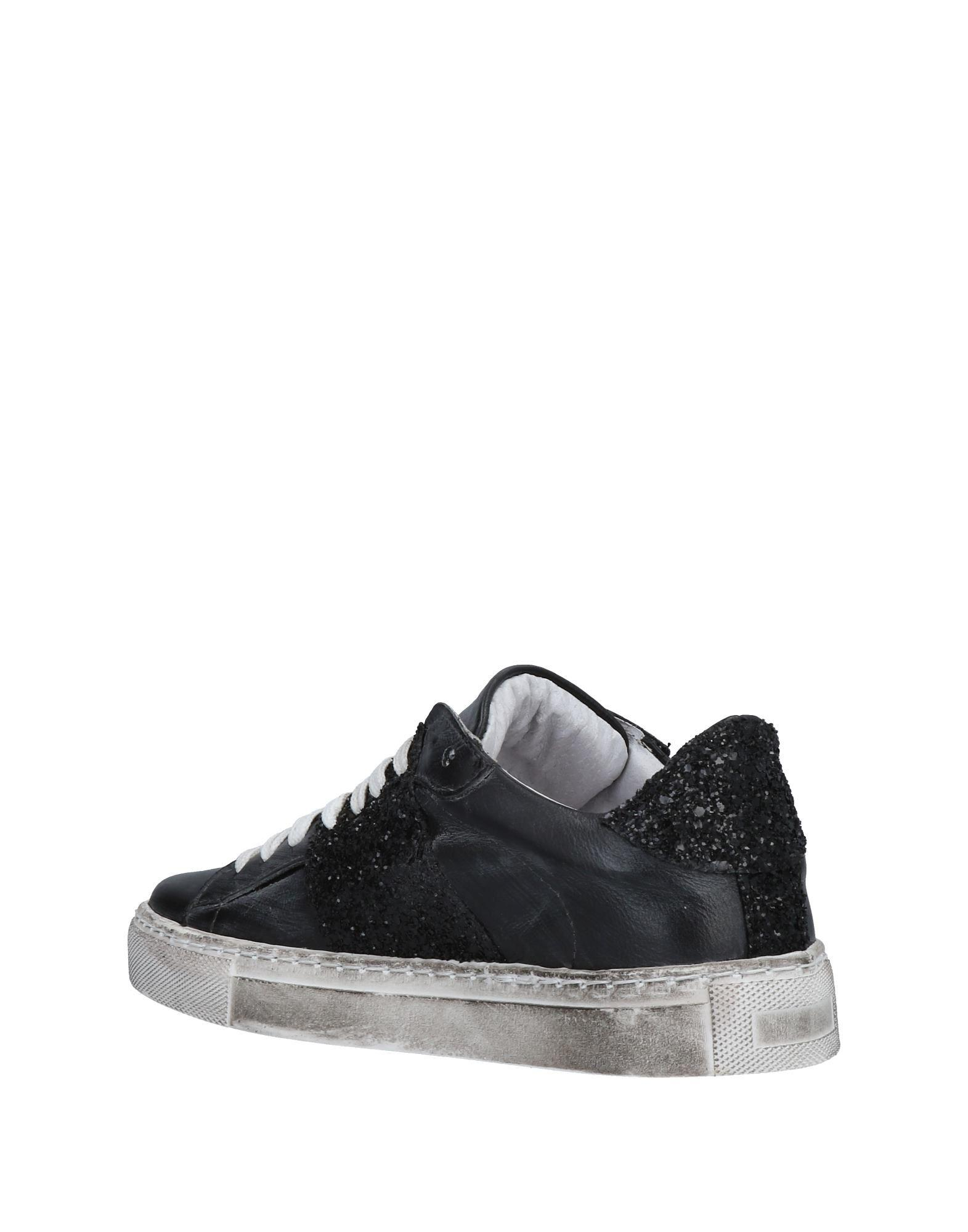 Couture Leather Low-tops & Sneakers in Steel Grey (Grey)