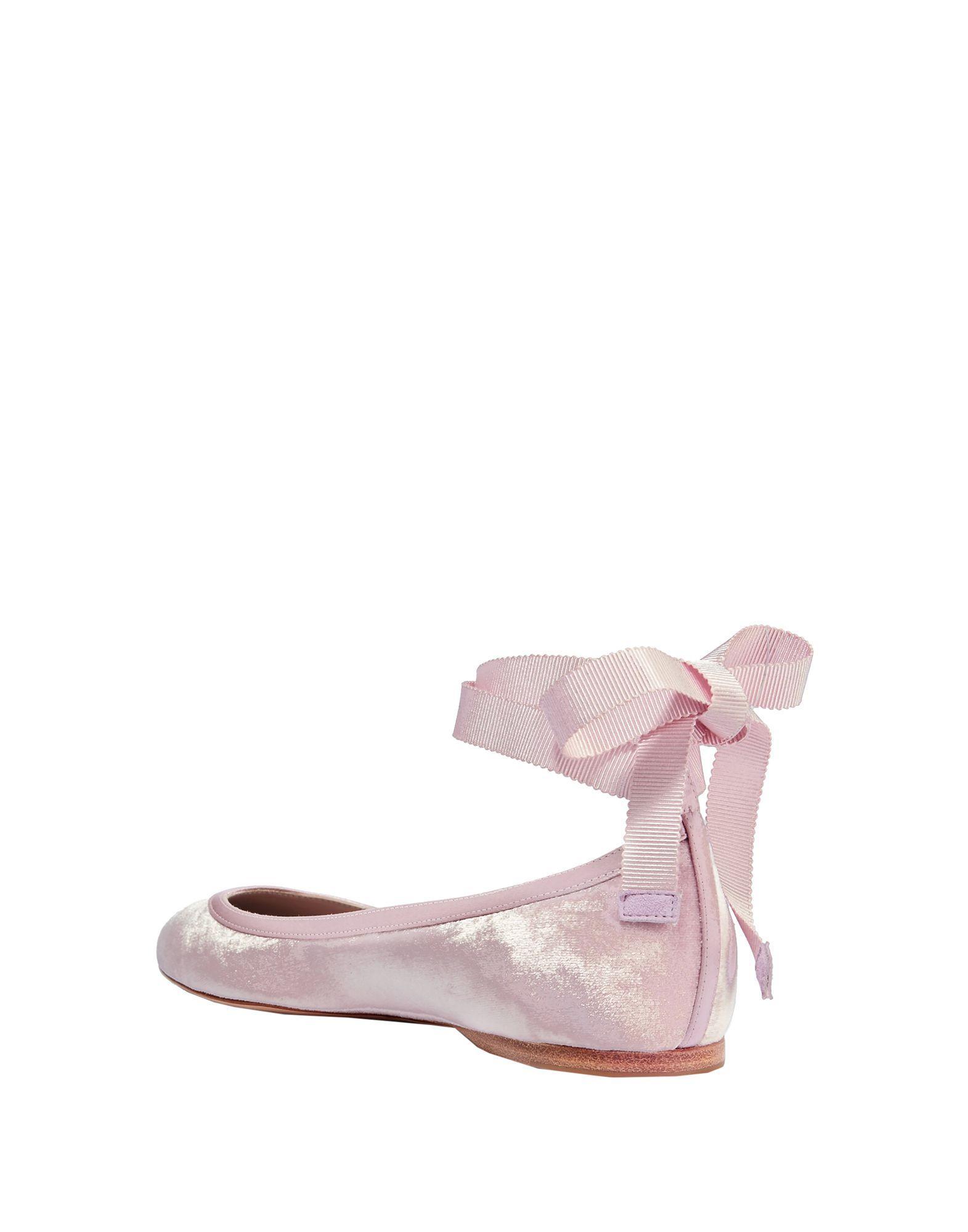 Bailarinas Aerin de Raso de color Rosa