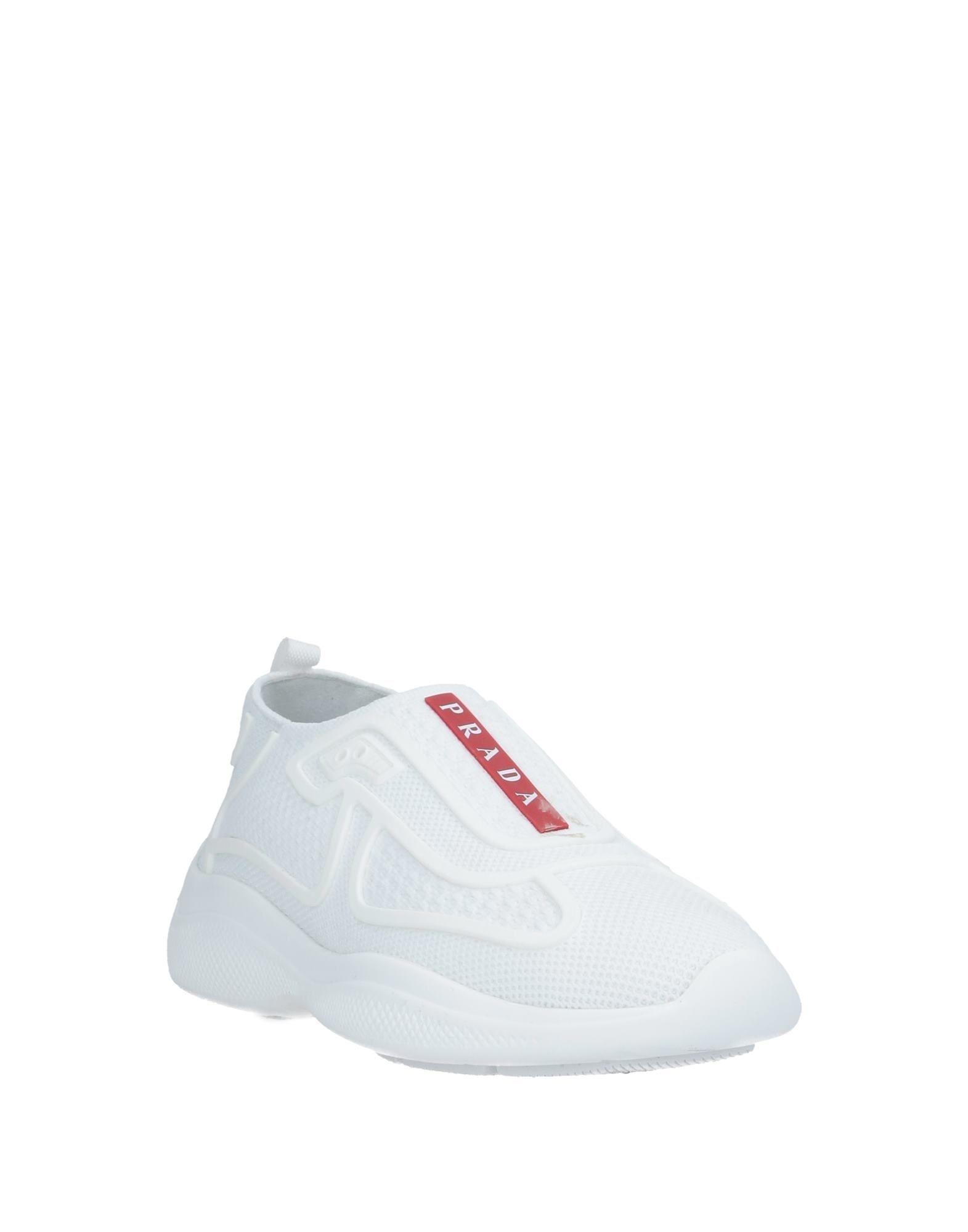 Sneakers & Deportivas Prada de color Blanco
