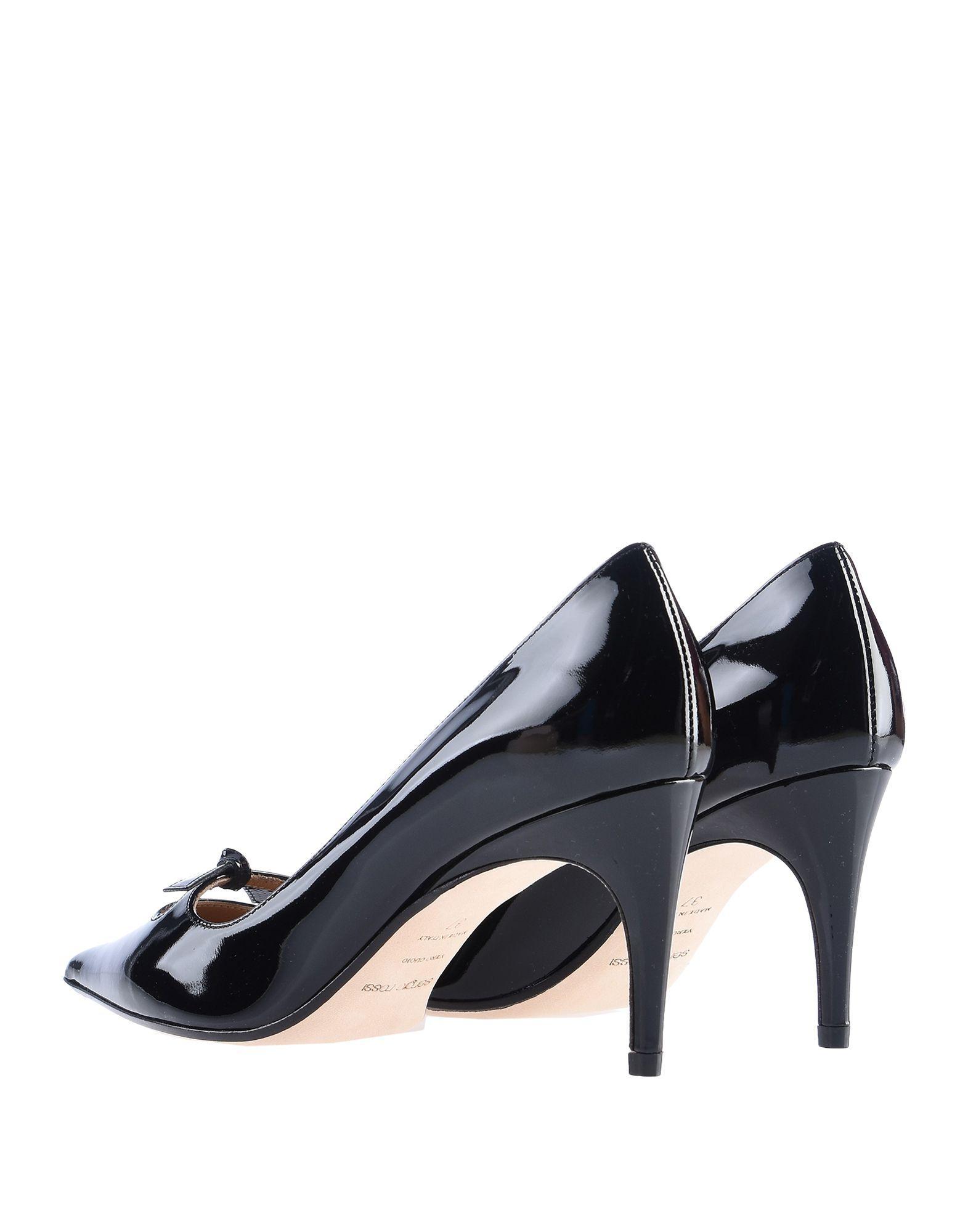 Zapatos de salón Sergio Rossi de Cuero de color Negro