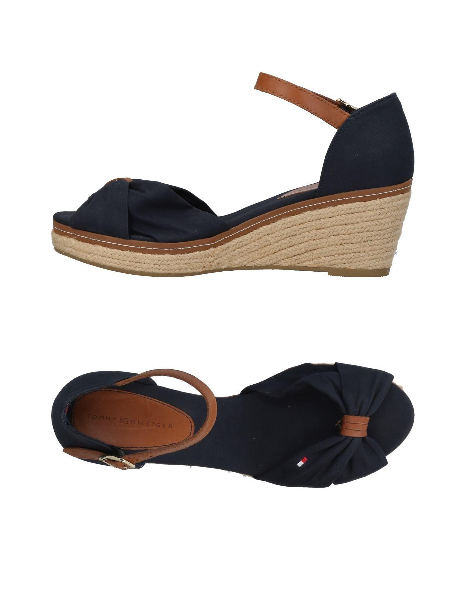 9c7ce8f8e89 Lyst - Tommy Hilfiger Sandals in Blue