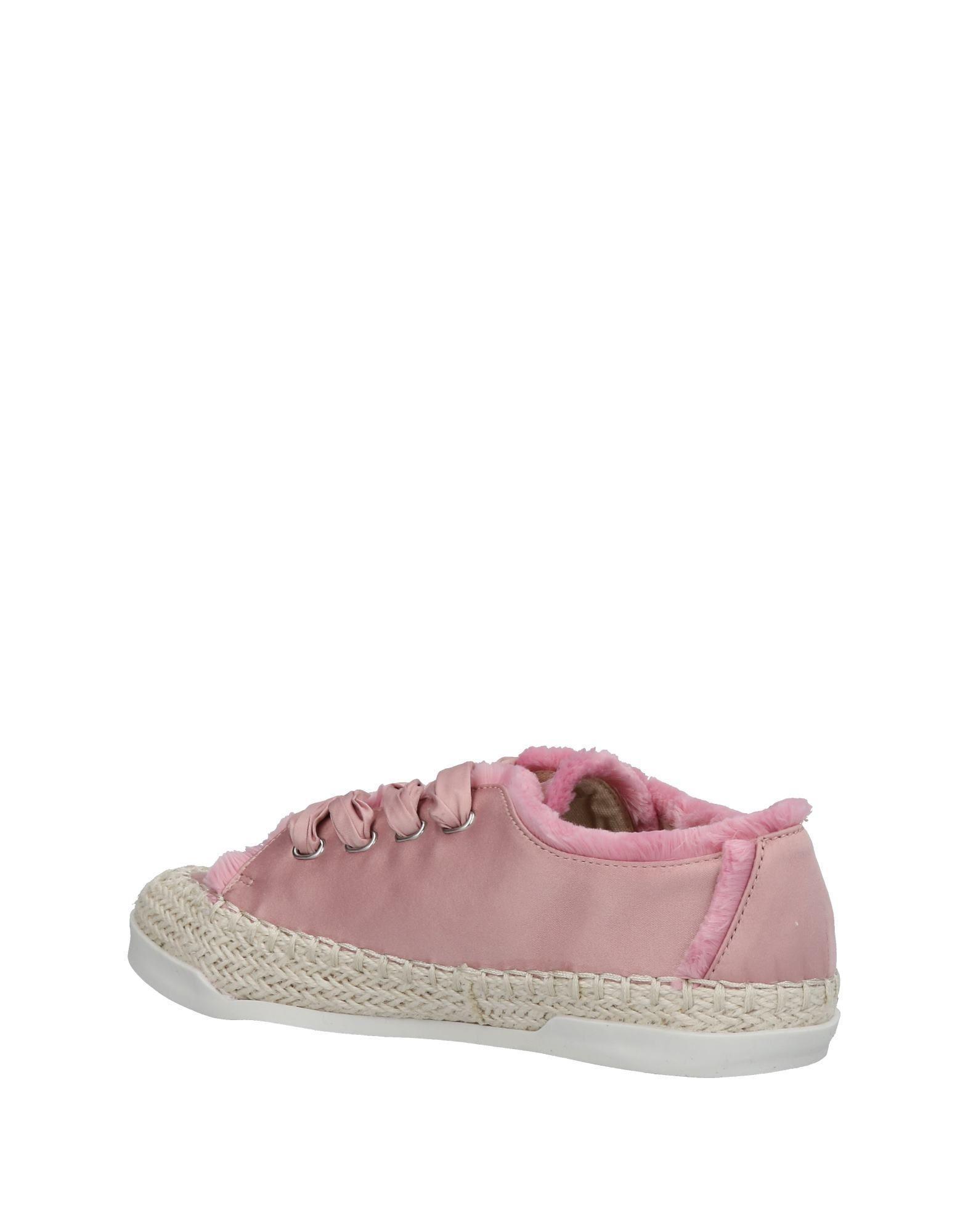 Sneakers & Deportivas CafeNoir de Raso de color Rosa
