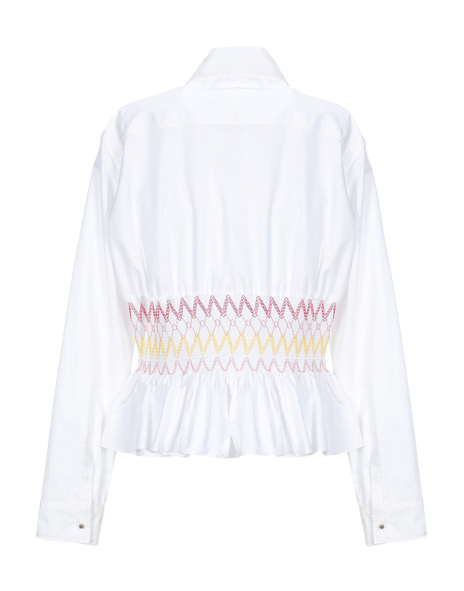Chemise Coton Emilio Pucci en coloris Blanc