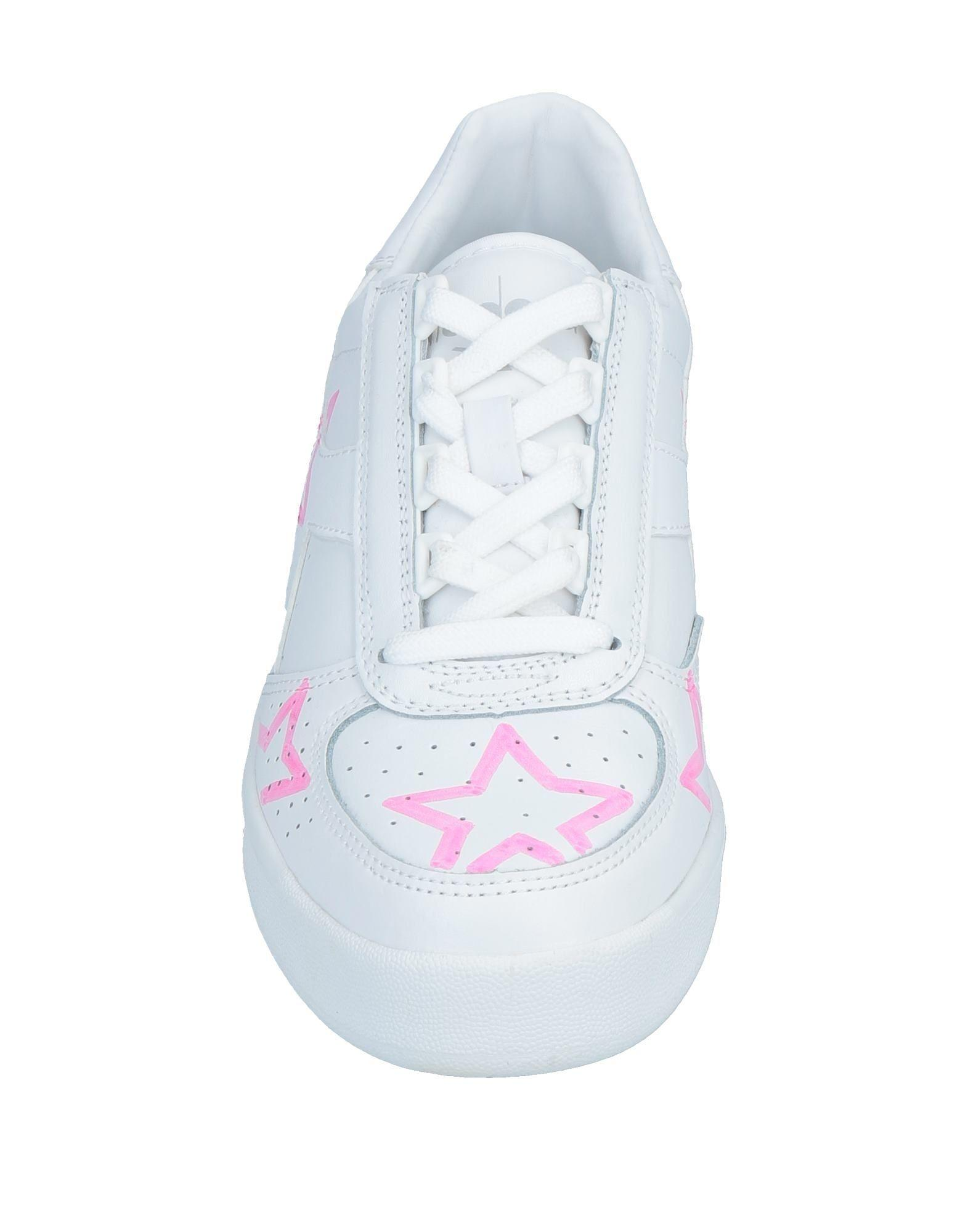 Sneakers & Deportivas Diadora de Cuero de color Blanco para hombre