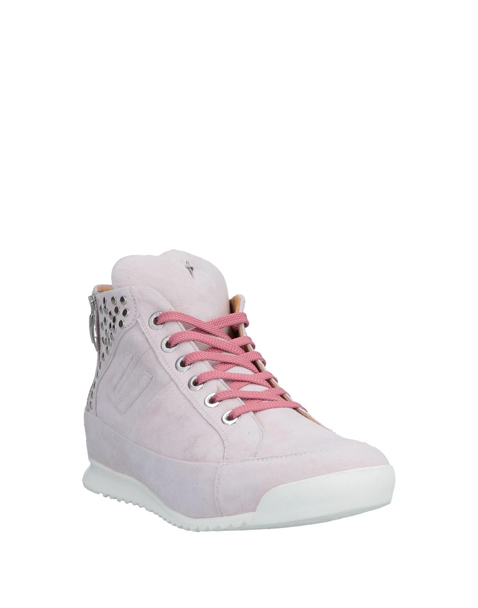 Sneakers abotinadas Cesare Paciotti de color Rosa