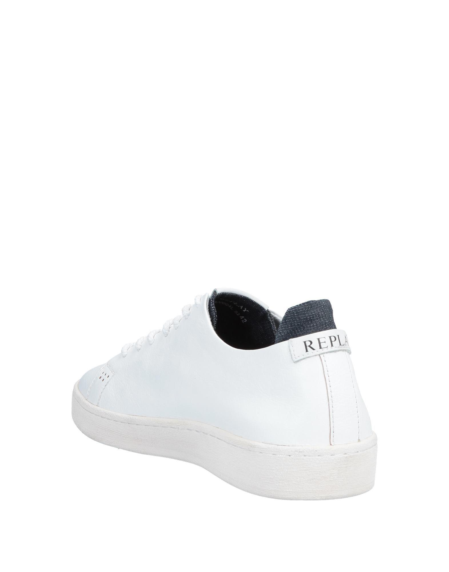 Replay Low-tops \u0026 Sneakers in White for