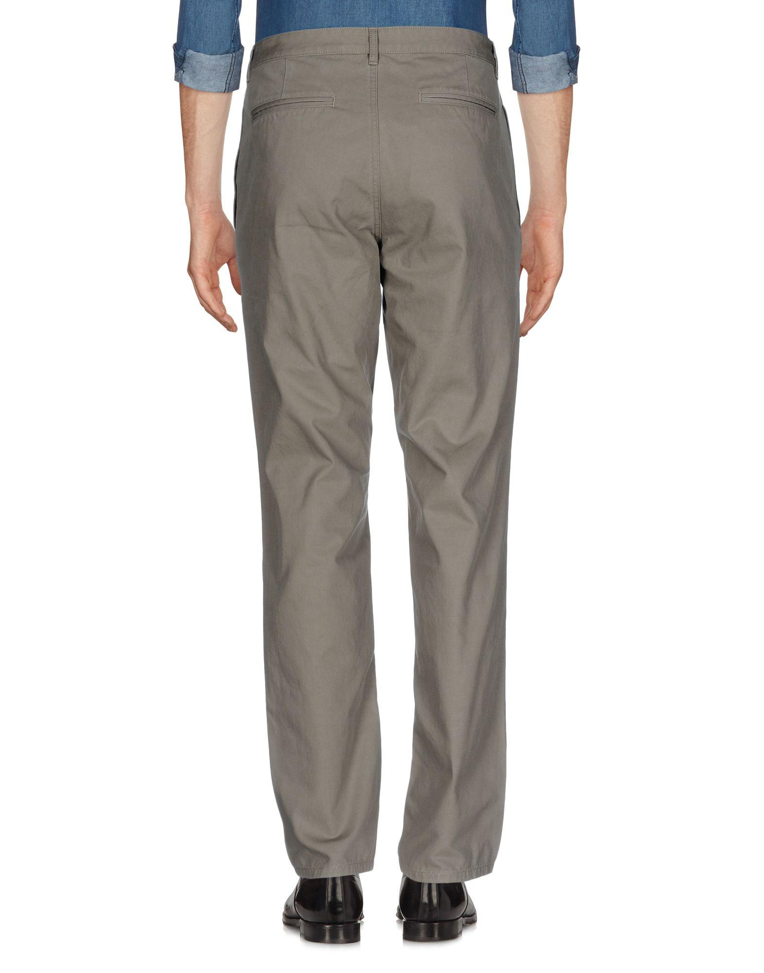A.P.C. Cotton Casual Trouser in Military Green (Grey) for Men