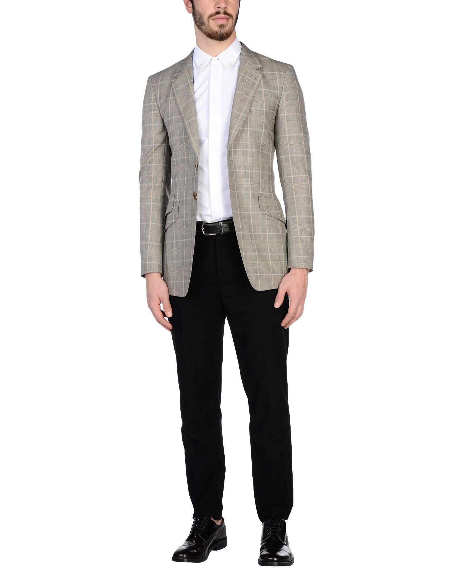 Paul Smith Wool Blazer in Beige (Natural) for Men