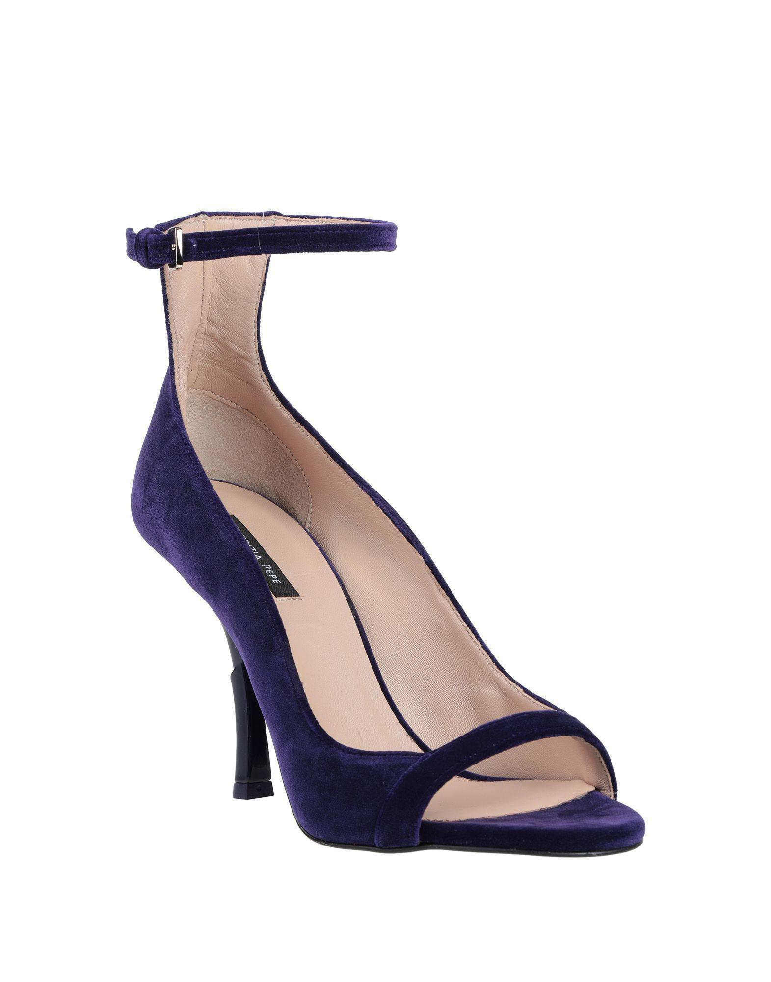 Zapatos de salón Patrizia Pepe de Tejido sintético de color Azul