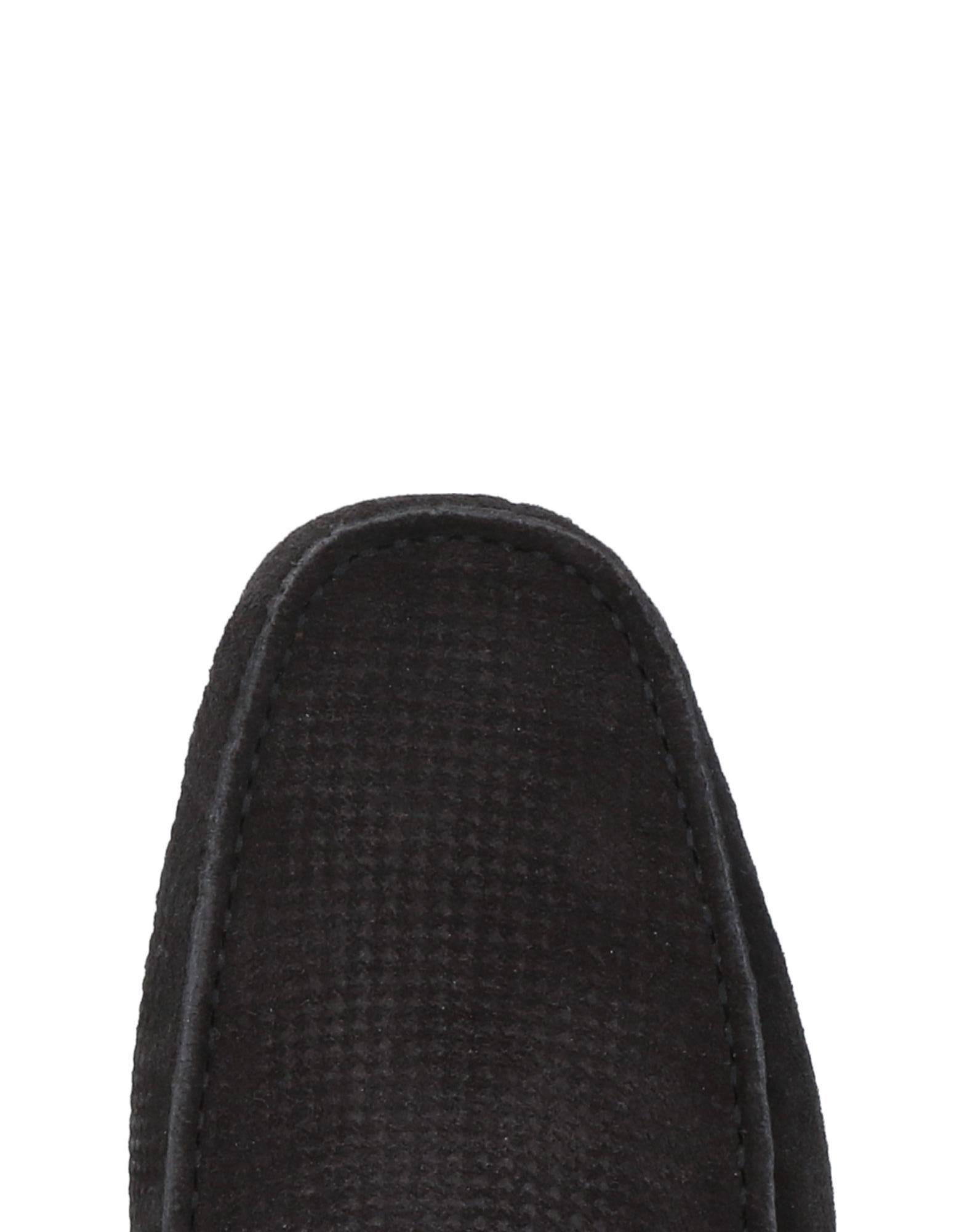 Harmont & Blaine Suede Loafers in Black for Men