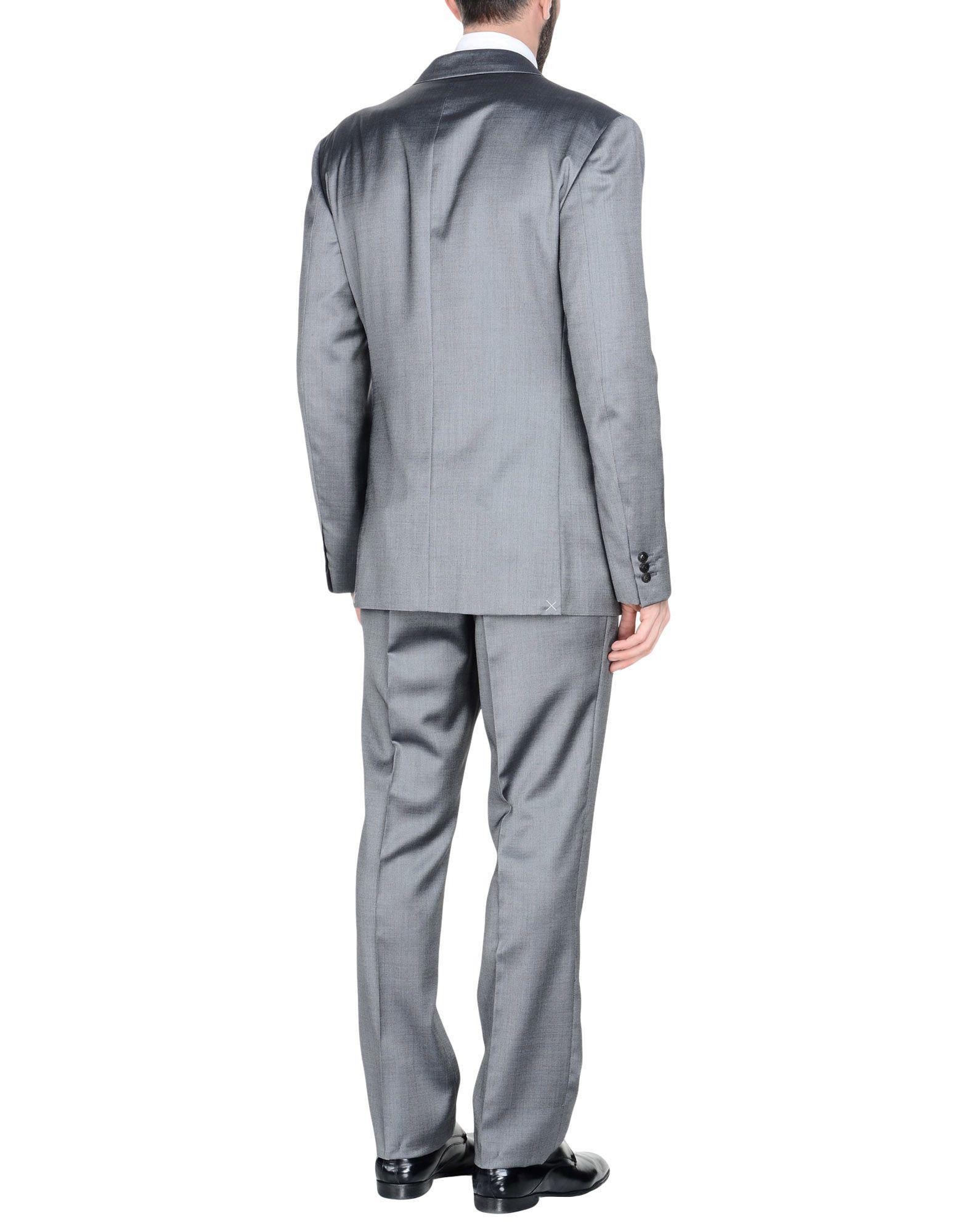 Lyst - Costume Versace pour homme en coloris Gris bbd4278f52c