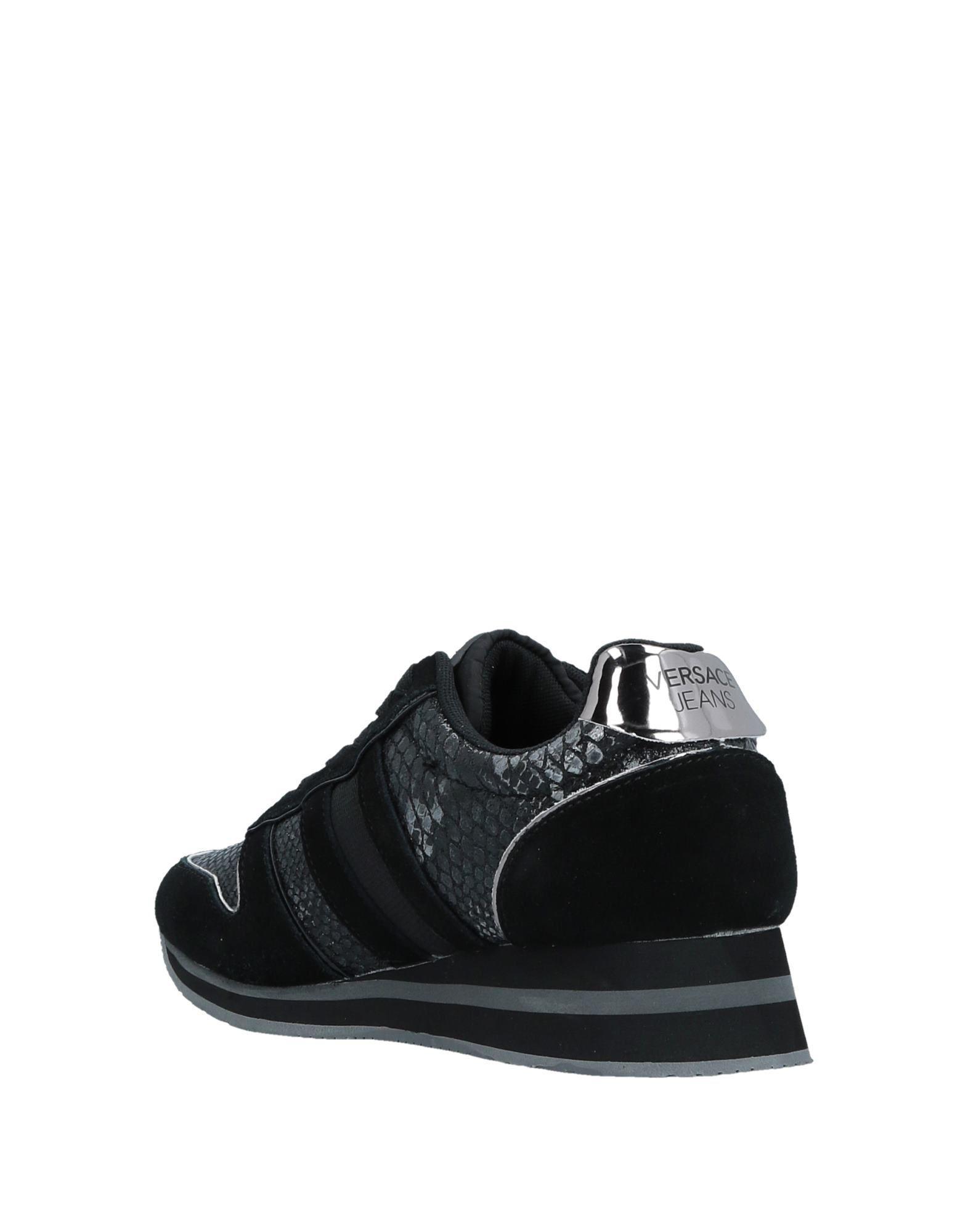 Sneakers & Deportivas Versace Jeans Couture de Cuero de color Negro