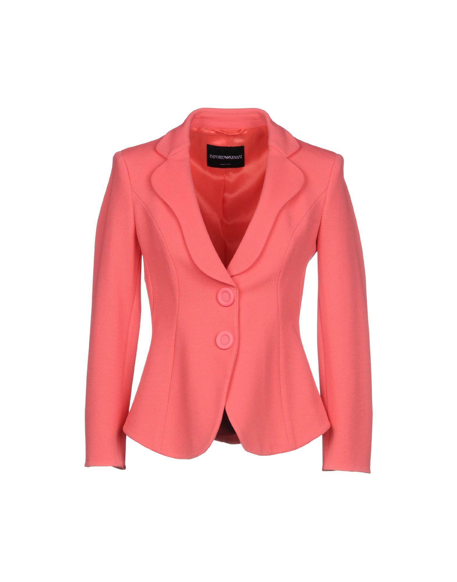 Pink Armani Lyst Emporio Blazer In q14YwYF