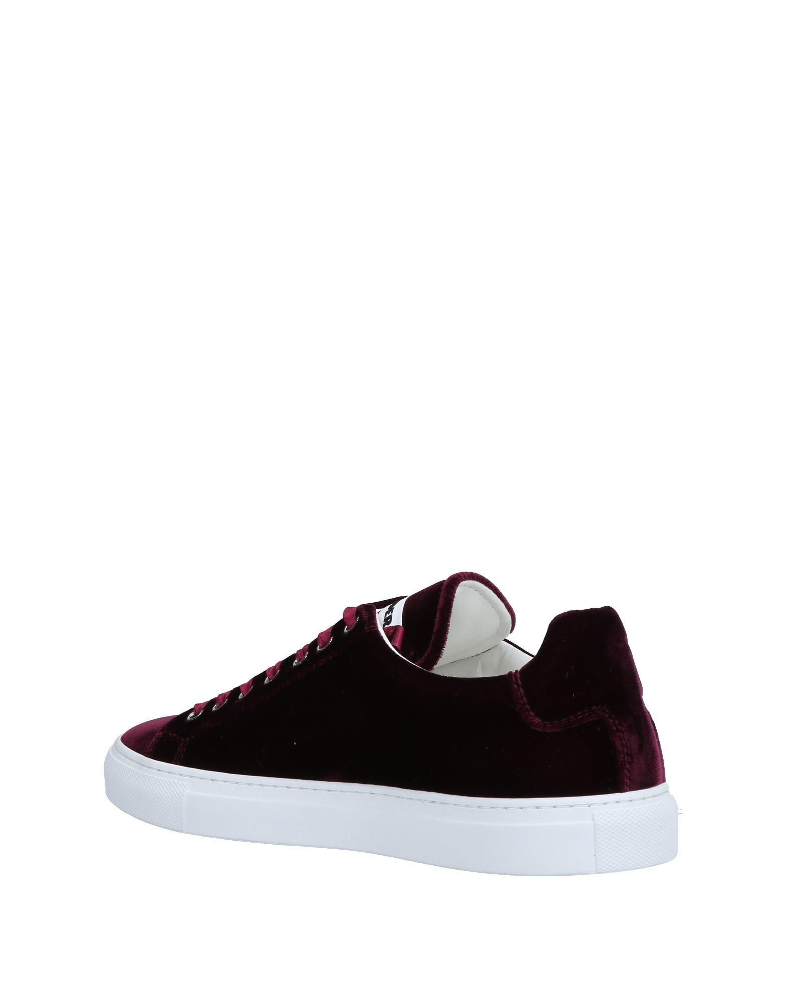 Jil Sander Satin Low-tops & Sneakers in Deep Purple (Purple)