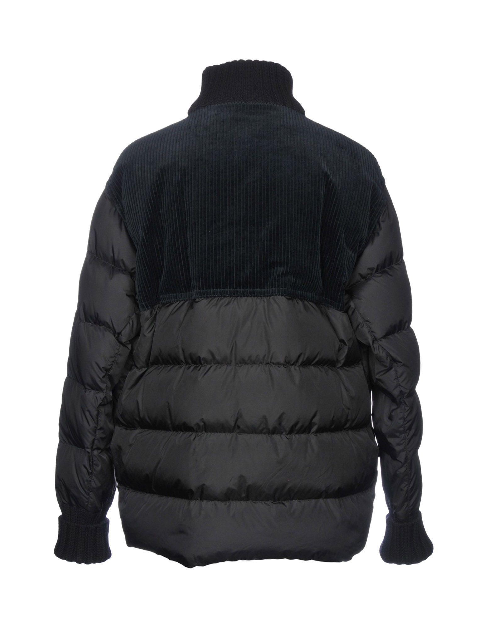 Marni Velvet Down Jacket in Black for Men