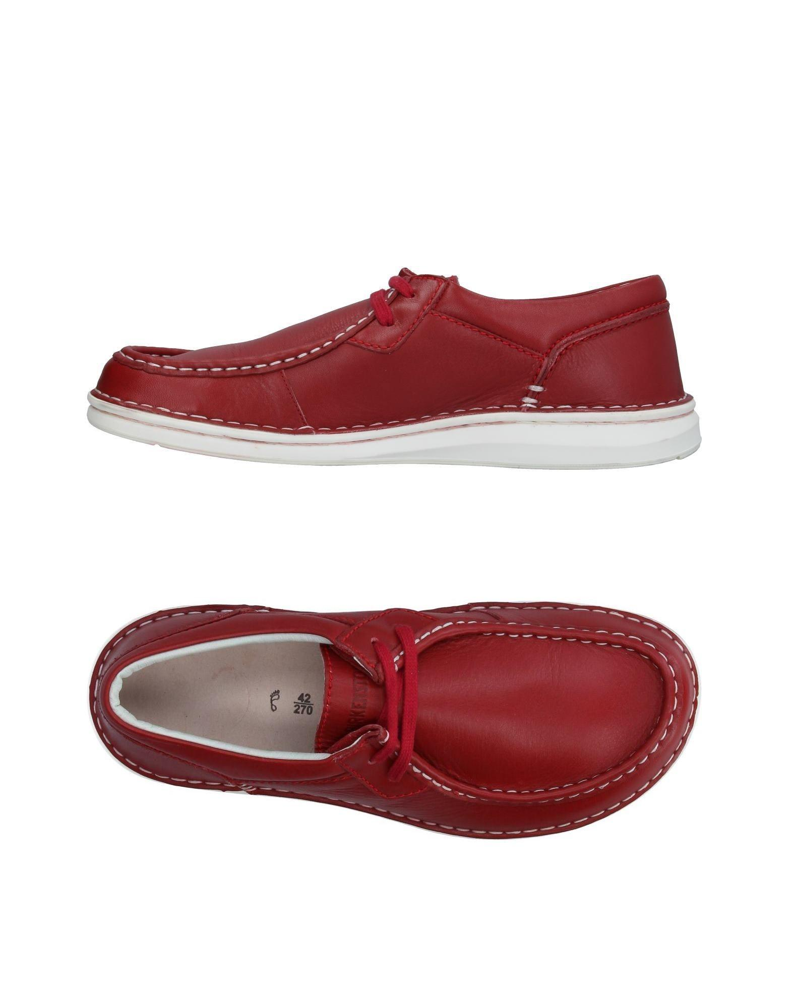 9b9c00c2c05a Lyst - Birkenstock Loafer in Red