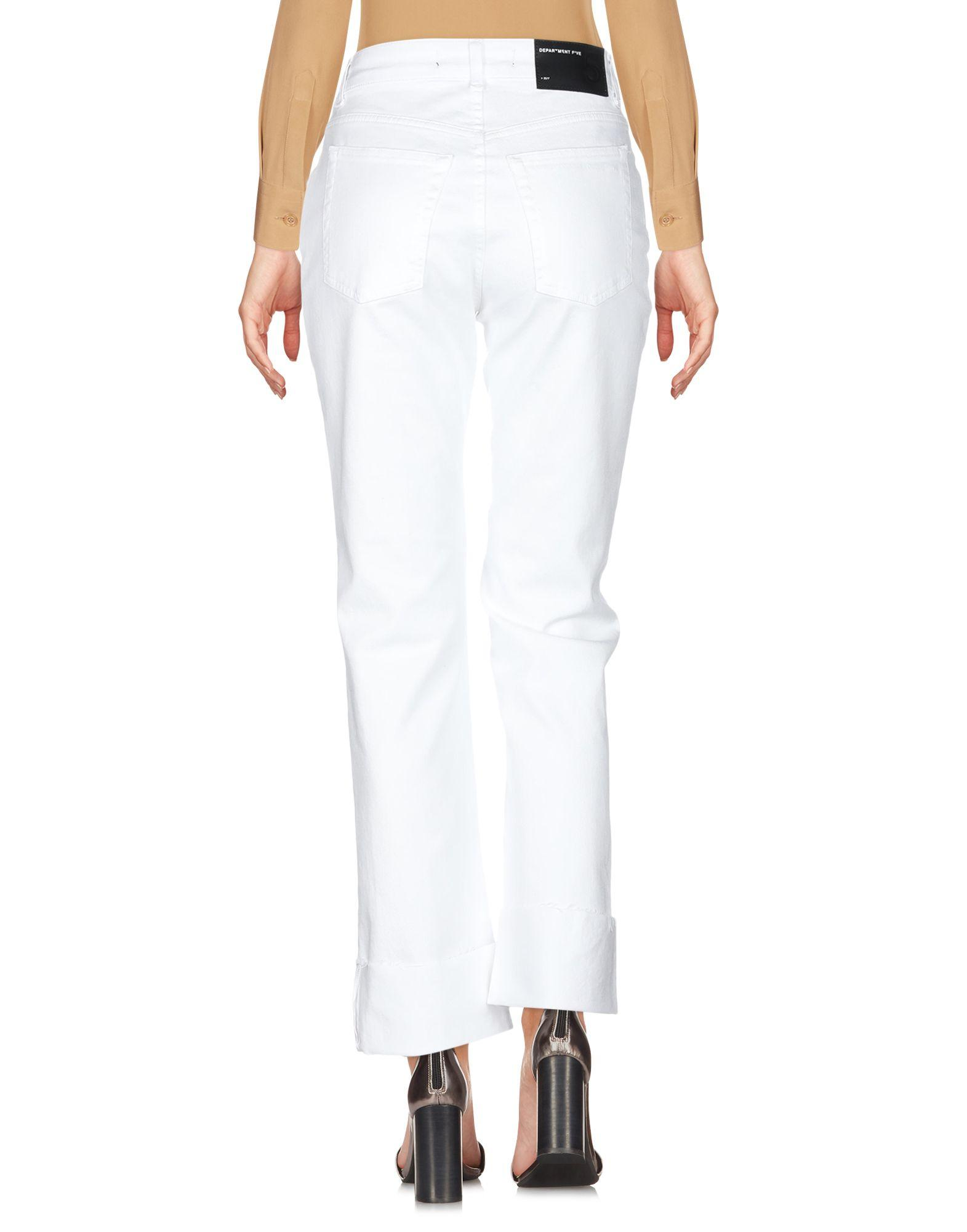 Pantalones Department 5 de color Blanco
