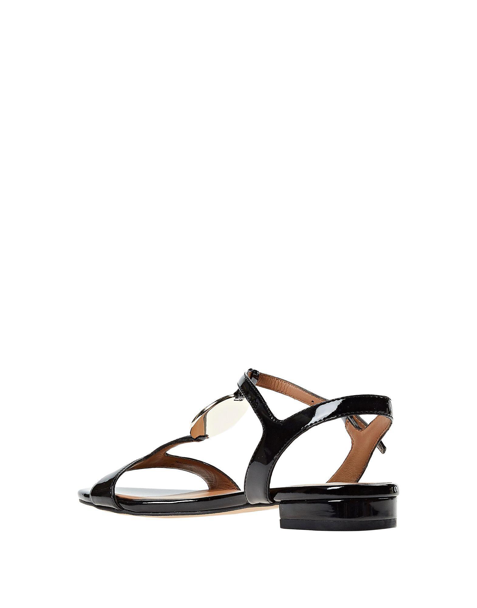 743ab9136a7b Lyst - Emporio Armani Sandals in Black
