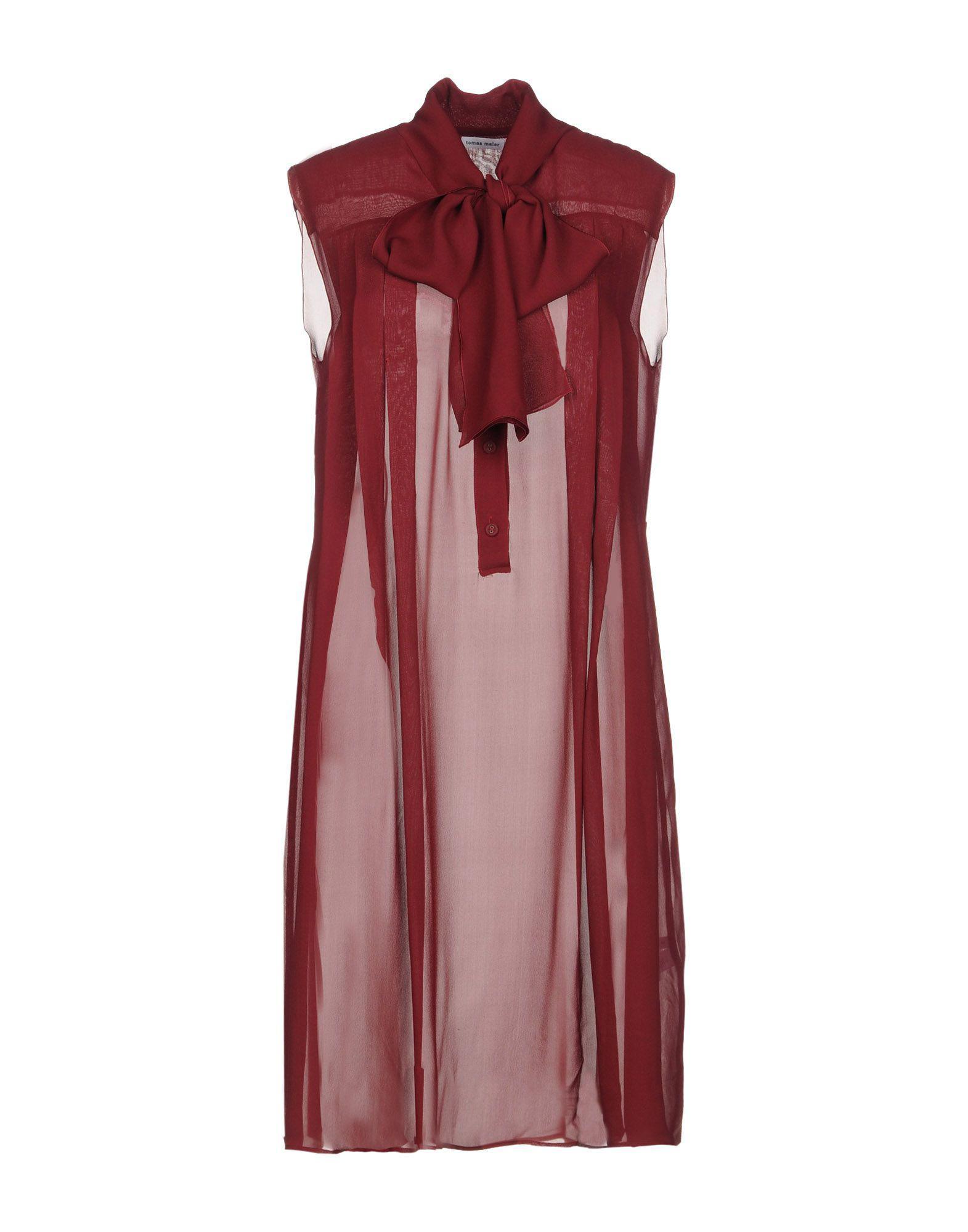 DRESSES - Knee-length dresses Tomas Maier Wm4ZomYae3