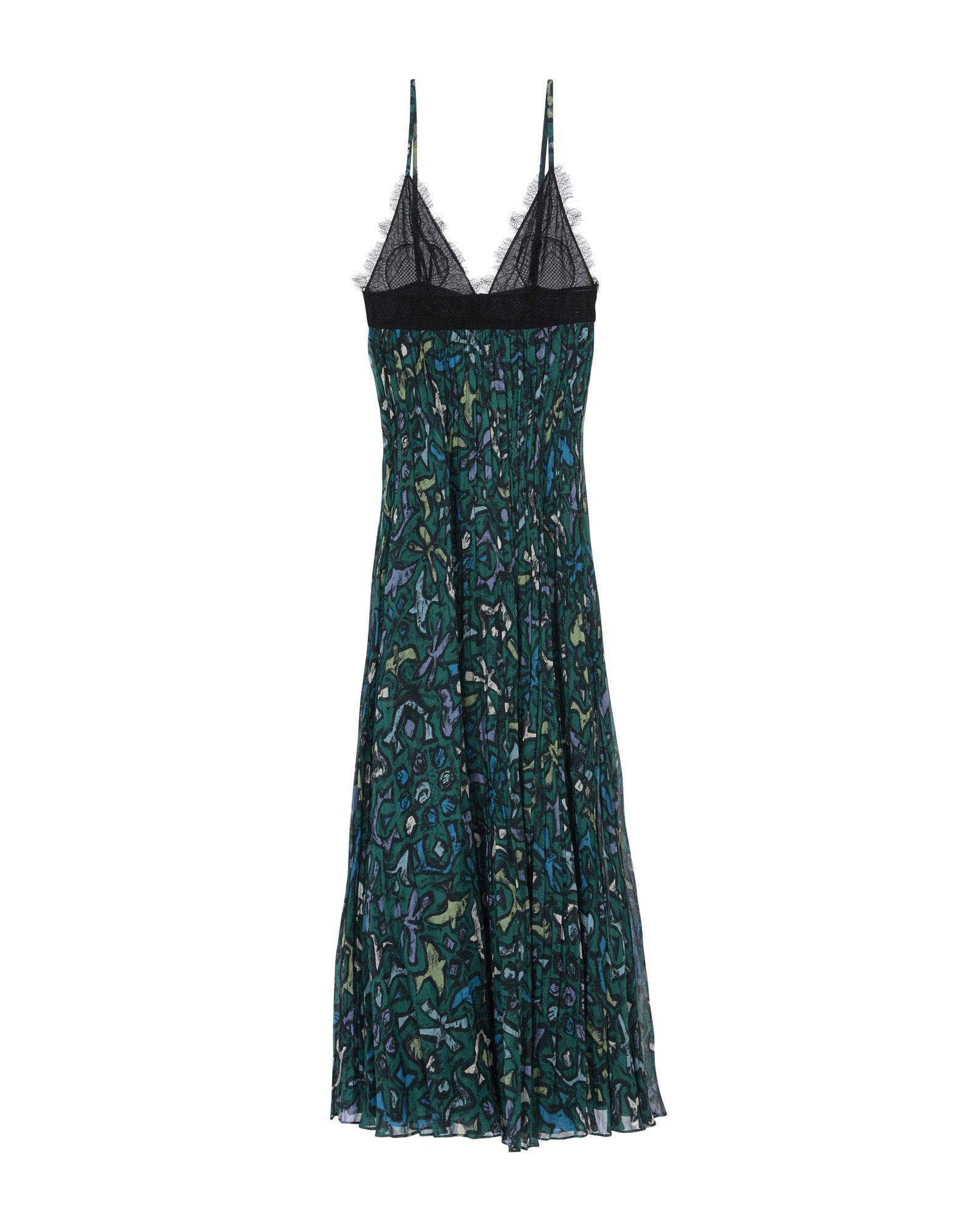 Lyst - Robe longue Valentino en coloris Vert 005d8c064bb7