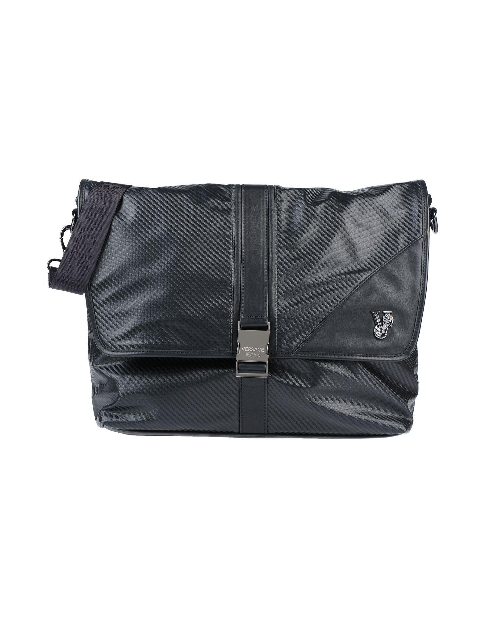Versace Jeans - Black Cross-body Bag for Men - Lyst. View fullscreen 6d3ff3f4e6bb7