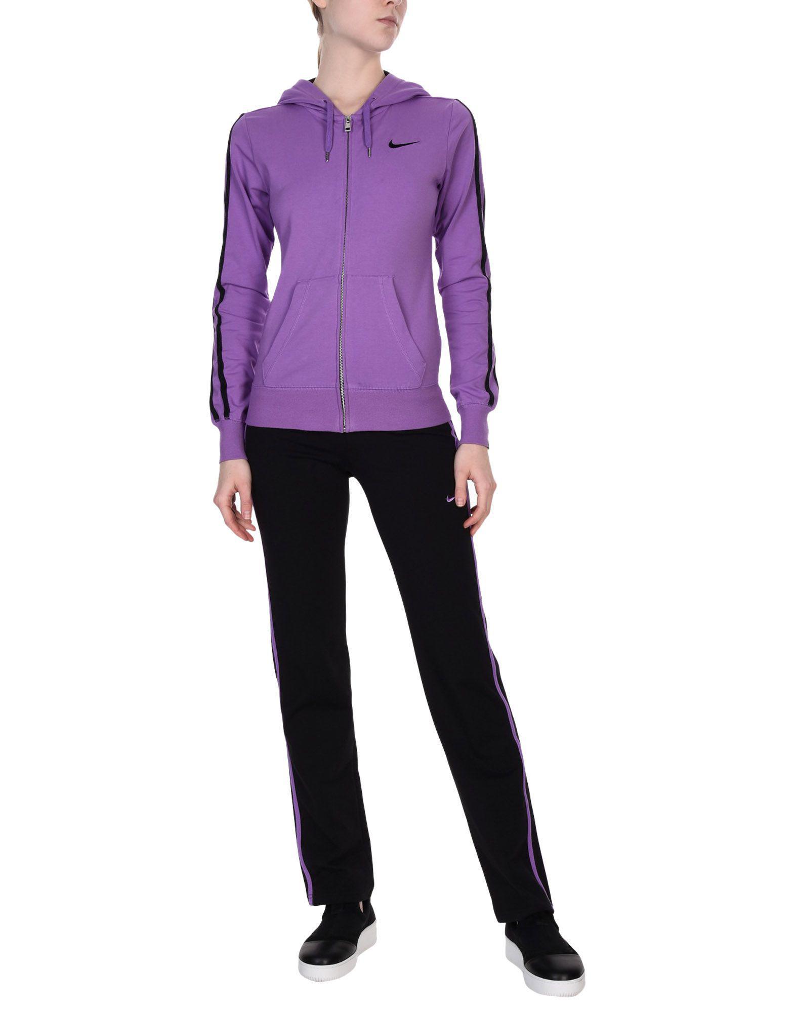 exclusive range check out new specials Survêtement en molleton Coton Nike en coloris Violet - Lyst