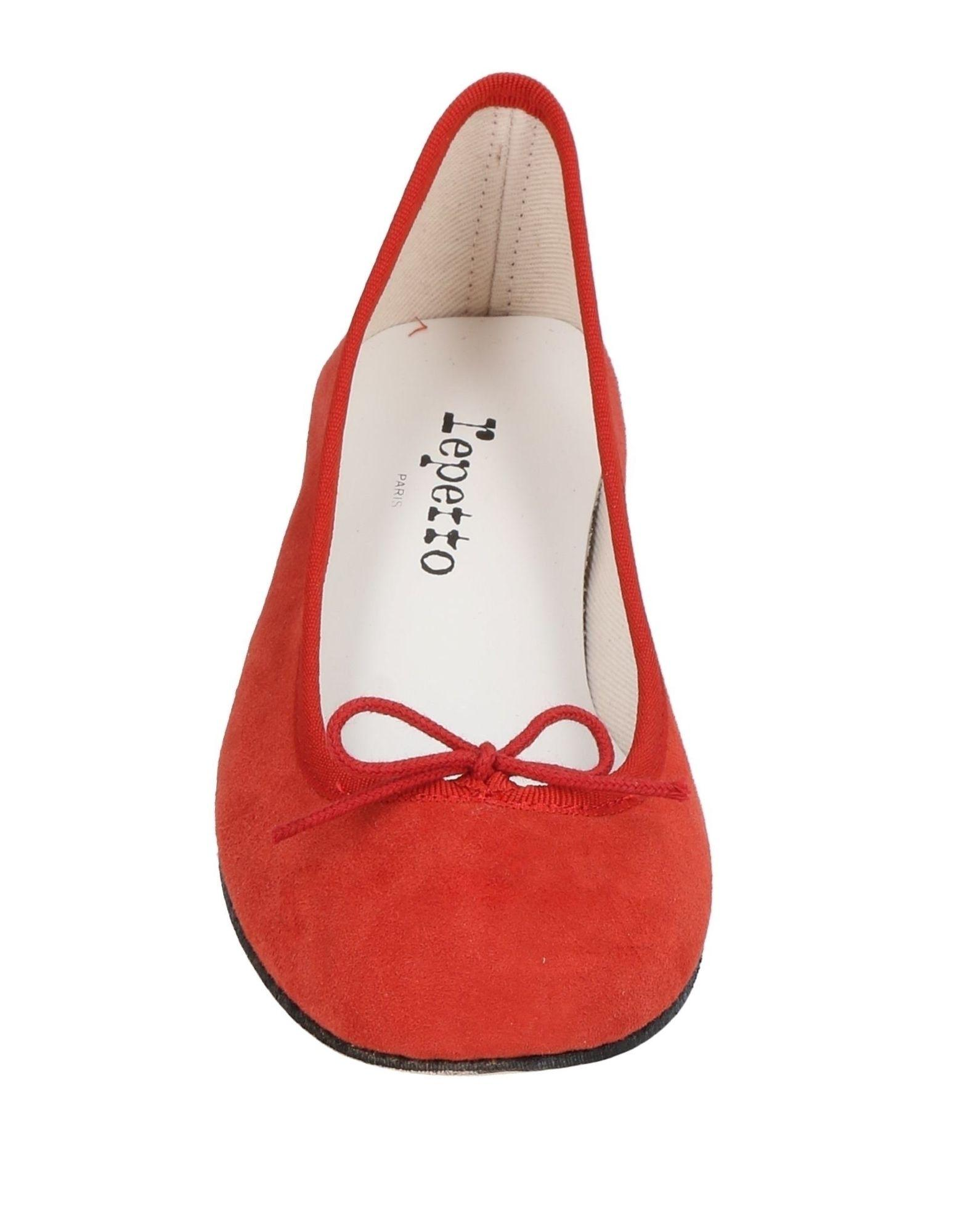 Bailarinas Repetto de color Rojo