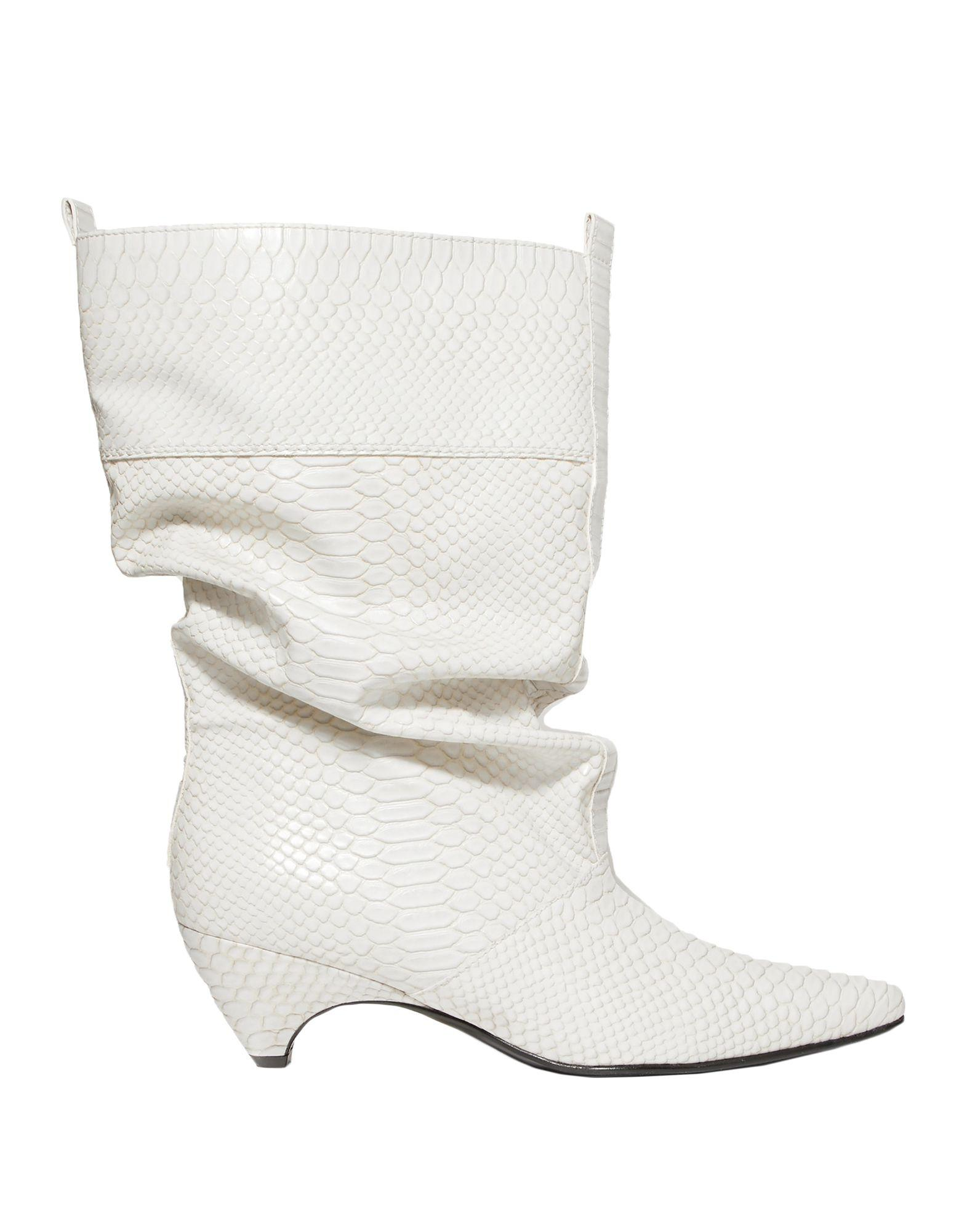 e532e6f6ddf Lyst - Stella McCartney Ankle Boots in White