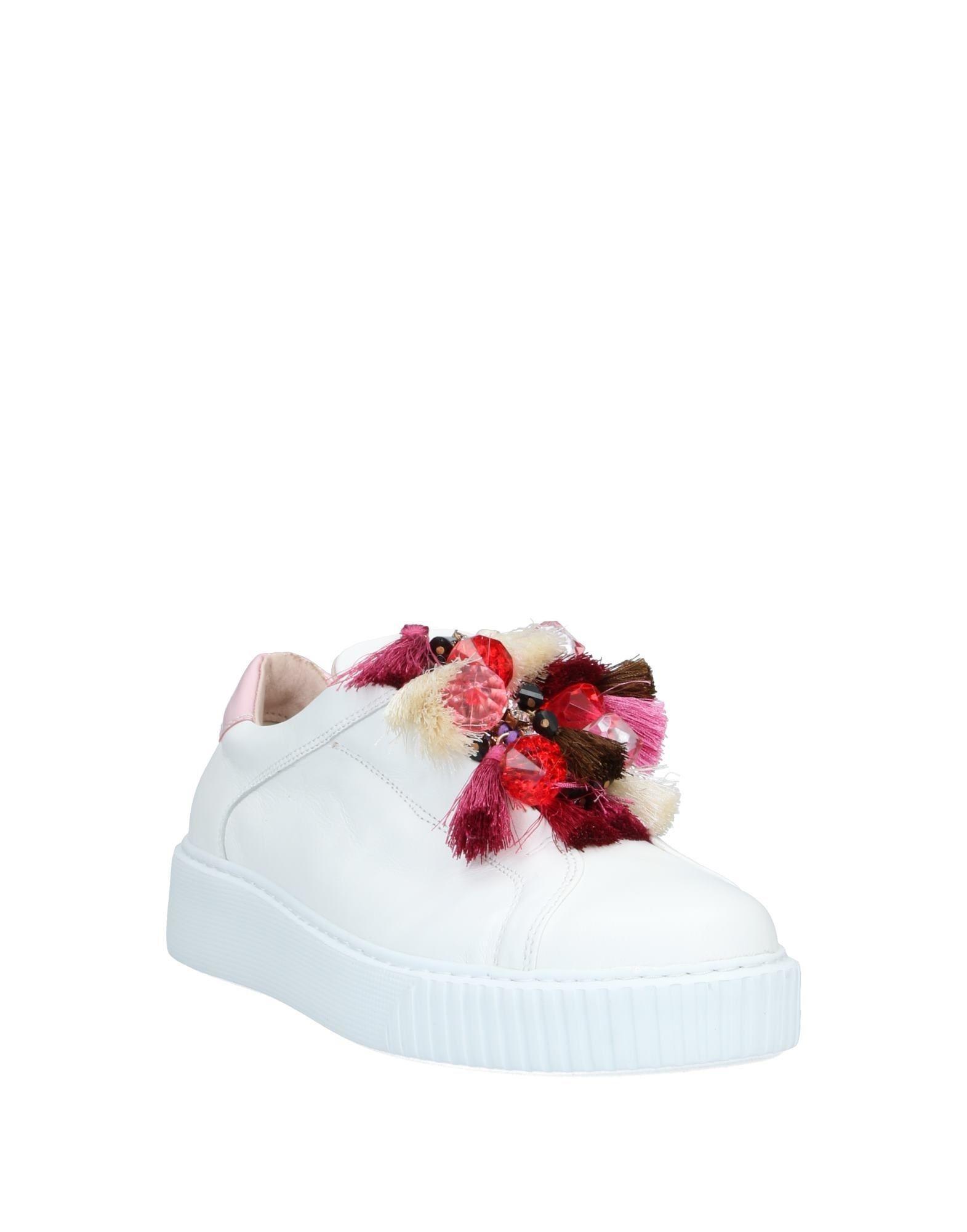 Sneakers & Deportivas Tosca Blu de Cuero de color Blanco