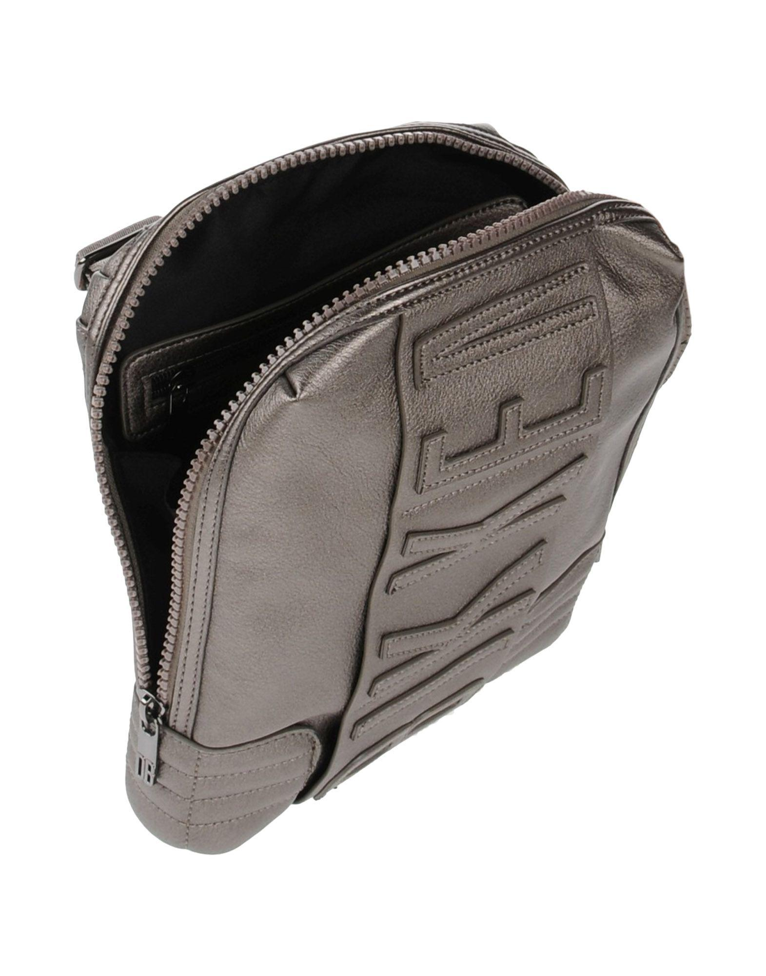 Bikkembergs Cross-body Bag in Lead (Grey) for Men