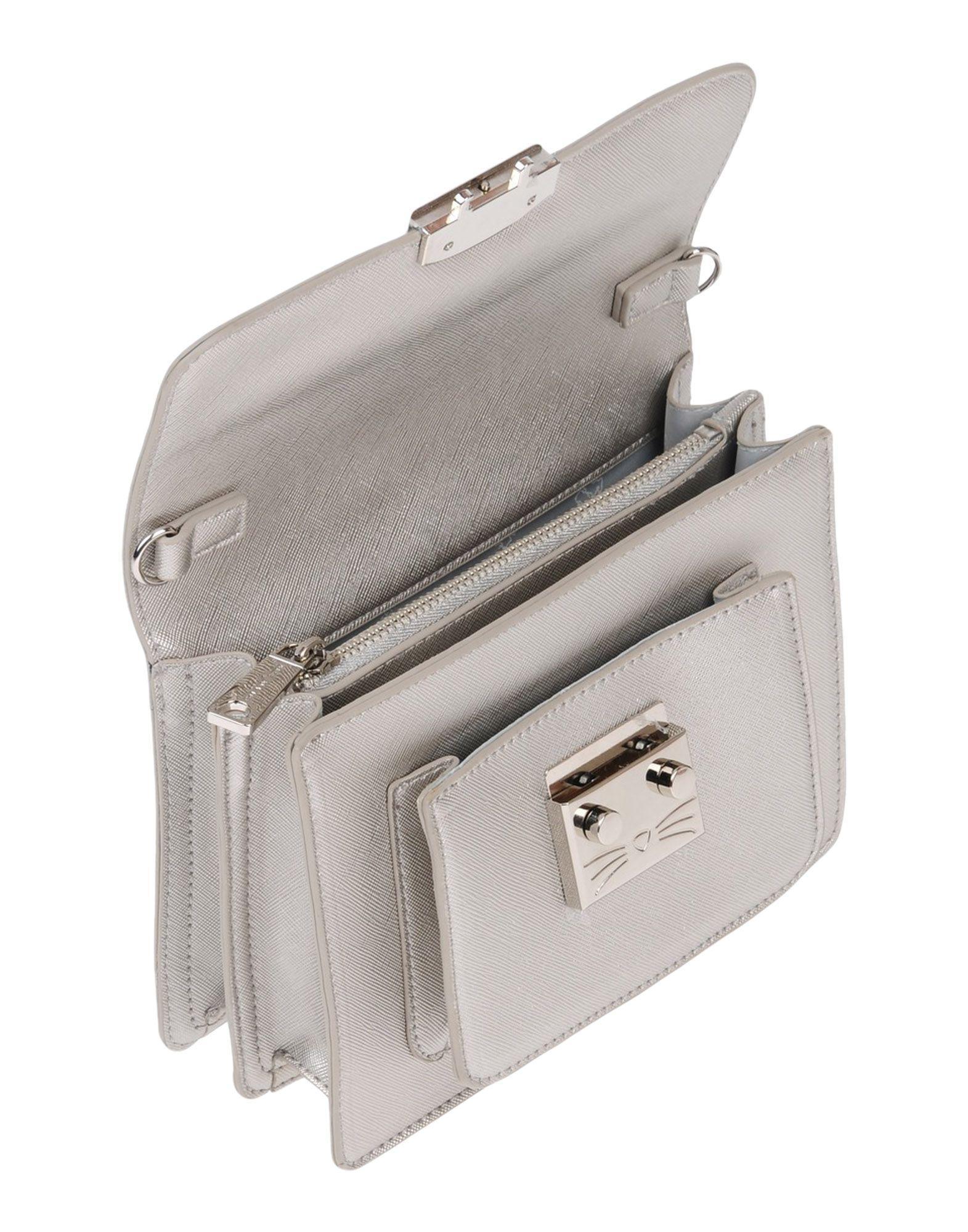 Paul & Joe Cross-body Bags in Silver (Metallic)