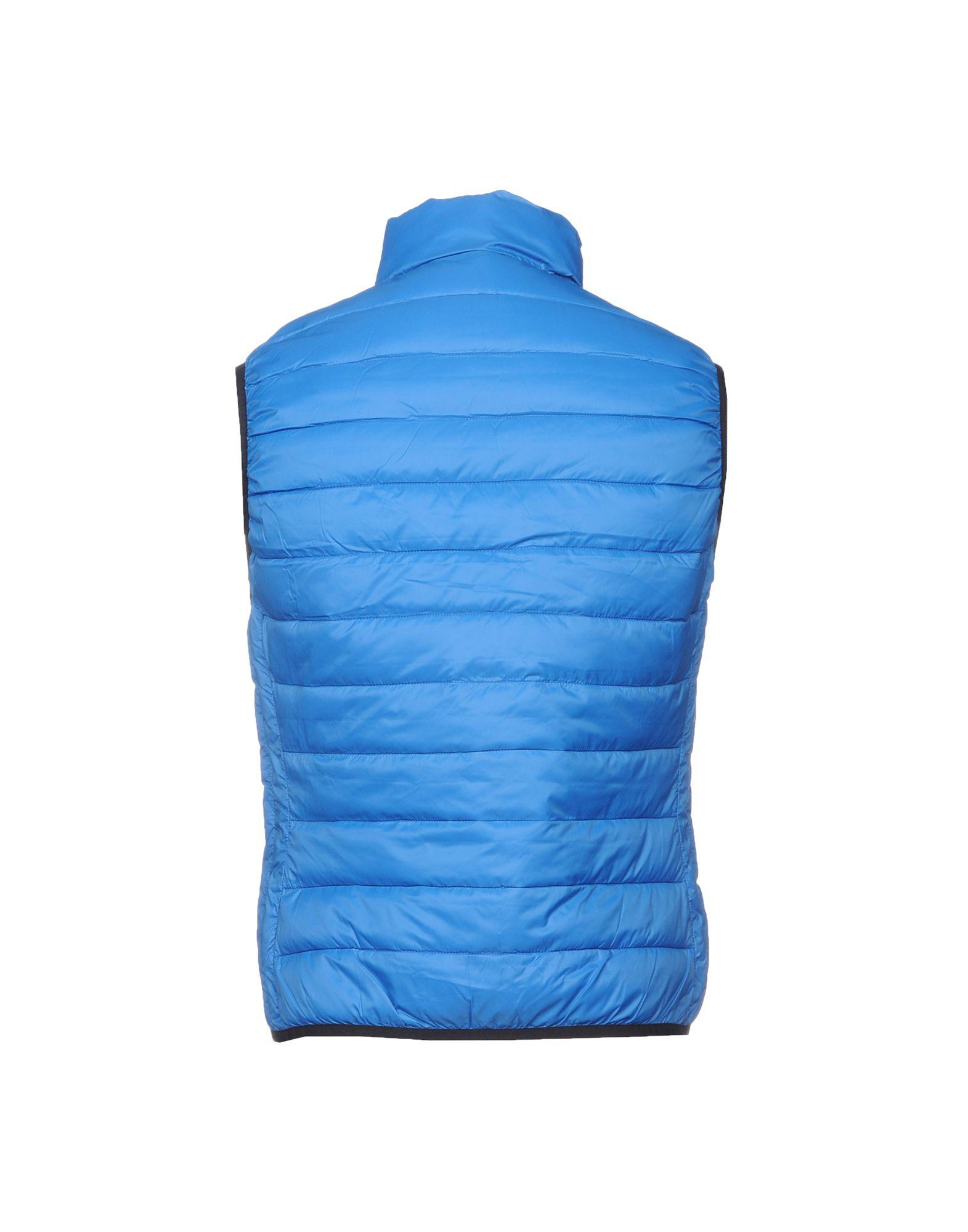 U.S. POLO ASSN. Synthetic Down Jacket in Blue for Men